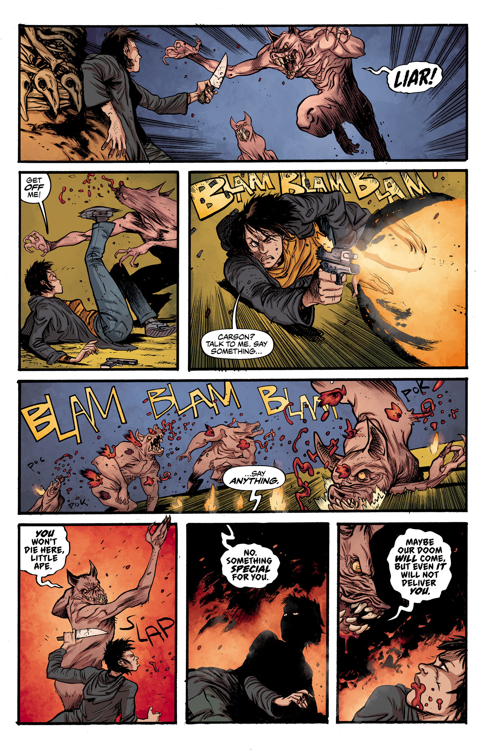 Read online Alabaster: The Good, the Bad and the Bird comic -  Issue #3 - 7