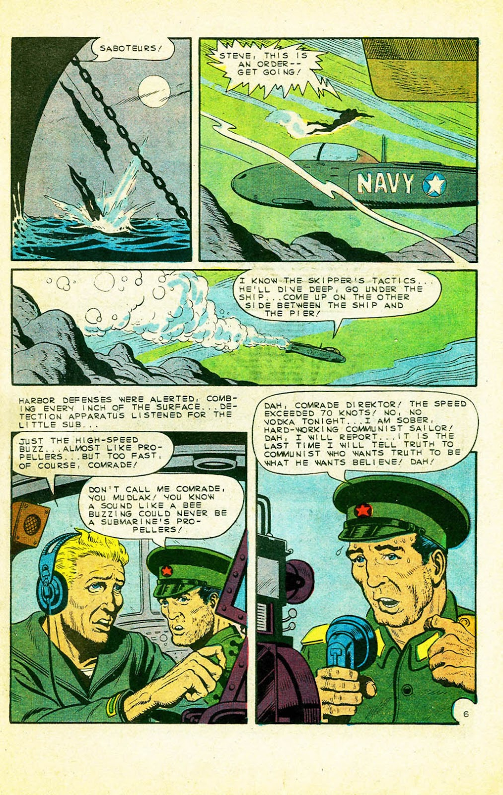 Read online Fightin' Navy comic -  Issue #128 - 7