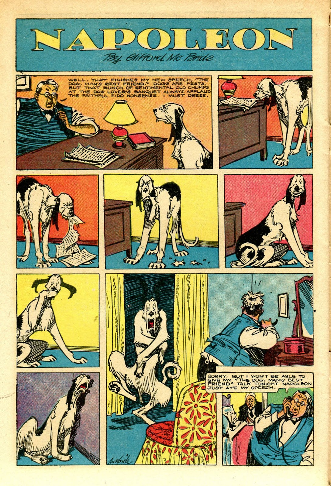 Read online Famous Funnies comic -  Issue #129 - 40