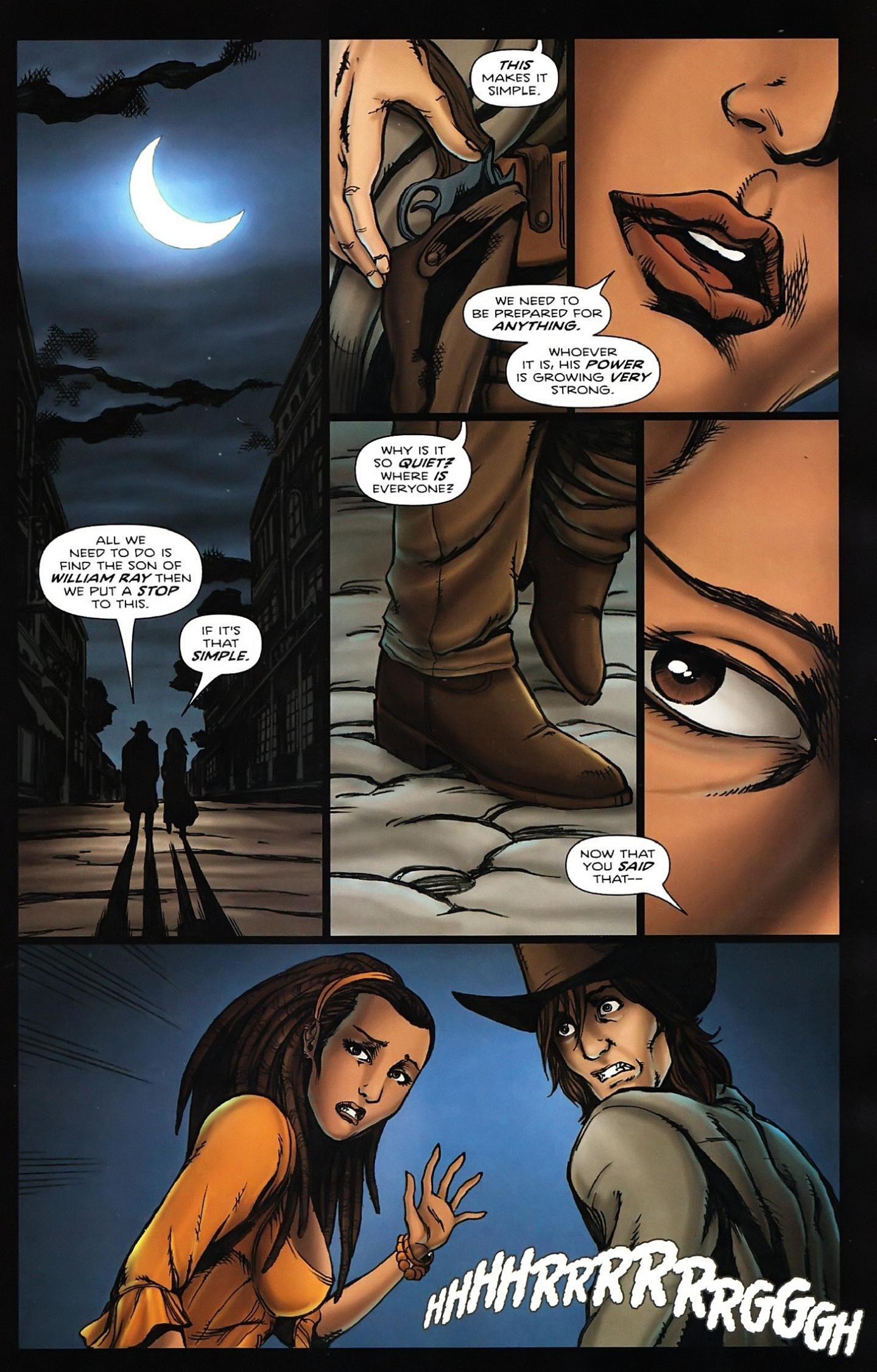 Read online Salem's Daughter: The Haunting comic -  Issue #5 - 4