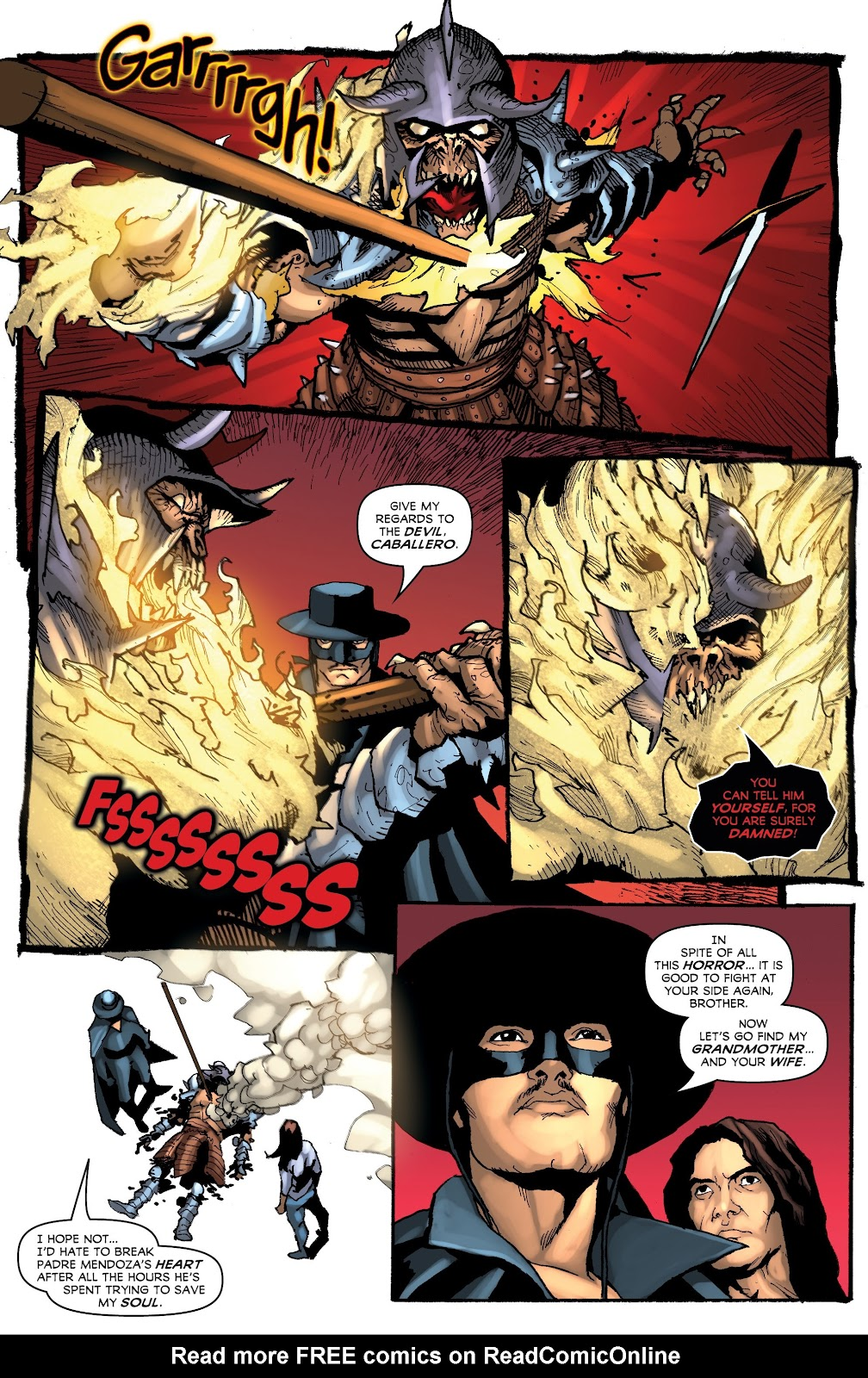 Read online Zorro: Swords of Hell comic -  Issue #3 - 16