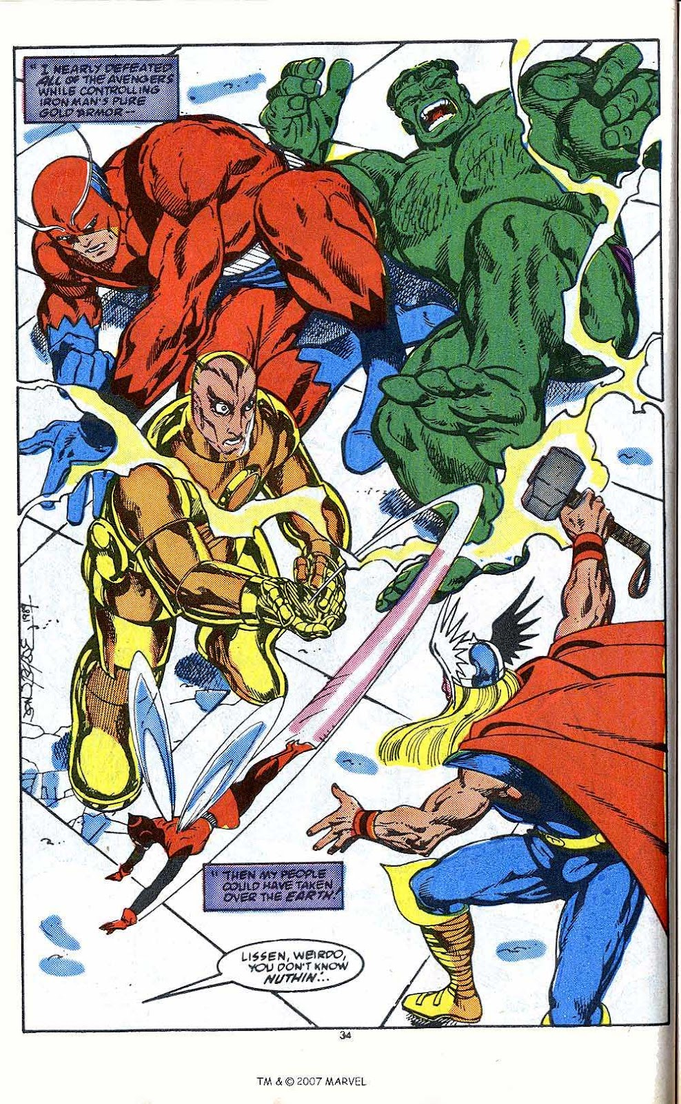 Iron Man Annual issue 10 - Page 36