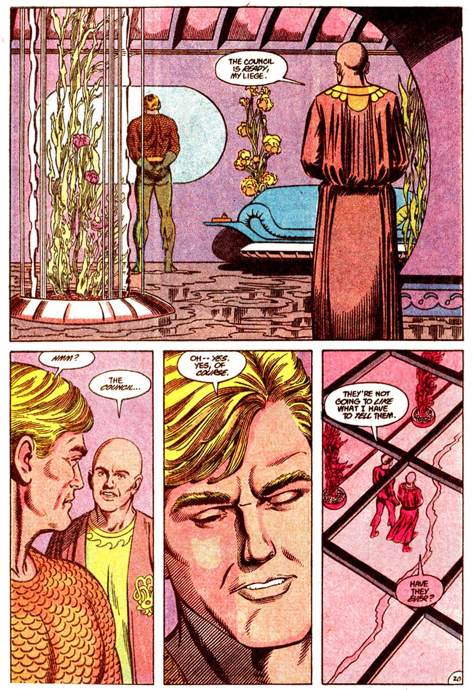 Read online Aquaman (1989) comic -  Issue #5 - 21