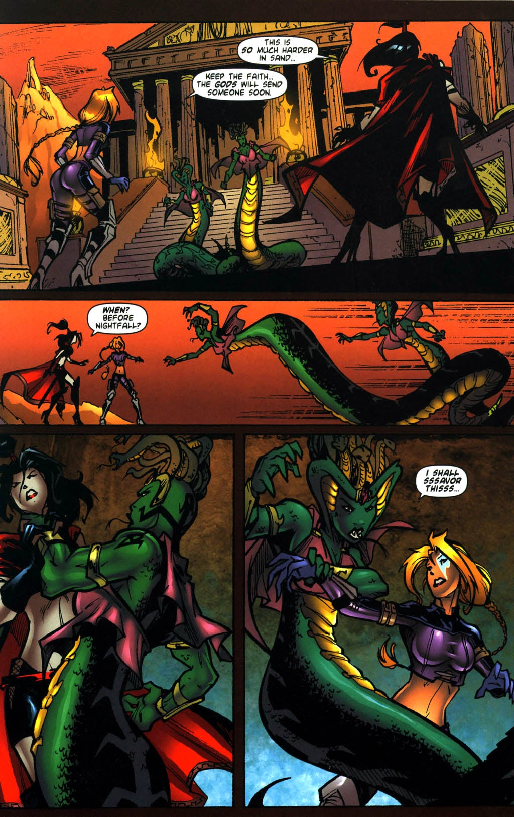 Ezra vs. 10th Muse | Viewcomic reading comics online for free 2021