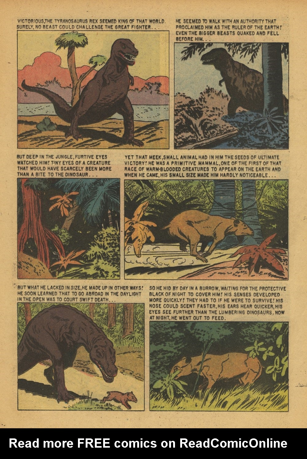 Read online Turok, Son of Stone comic -  Issue #15 - 17