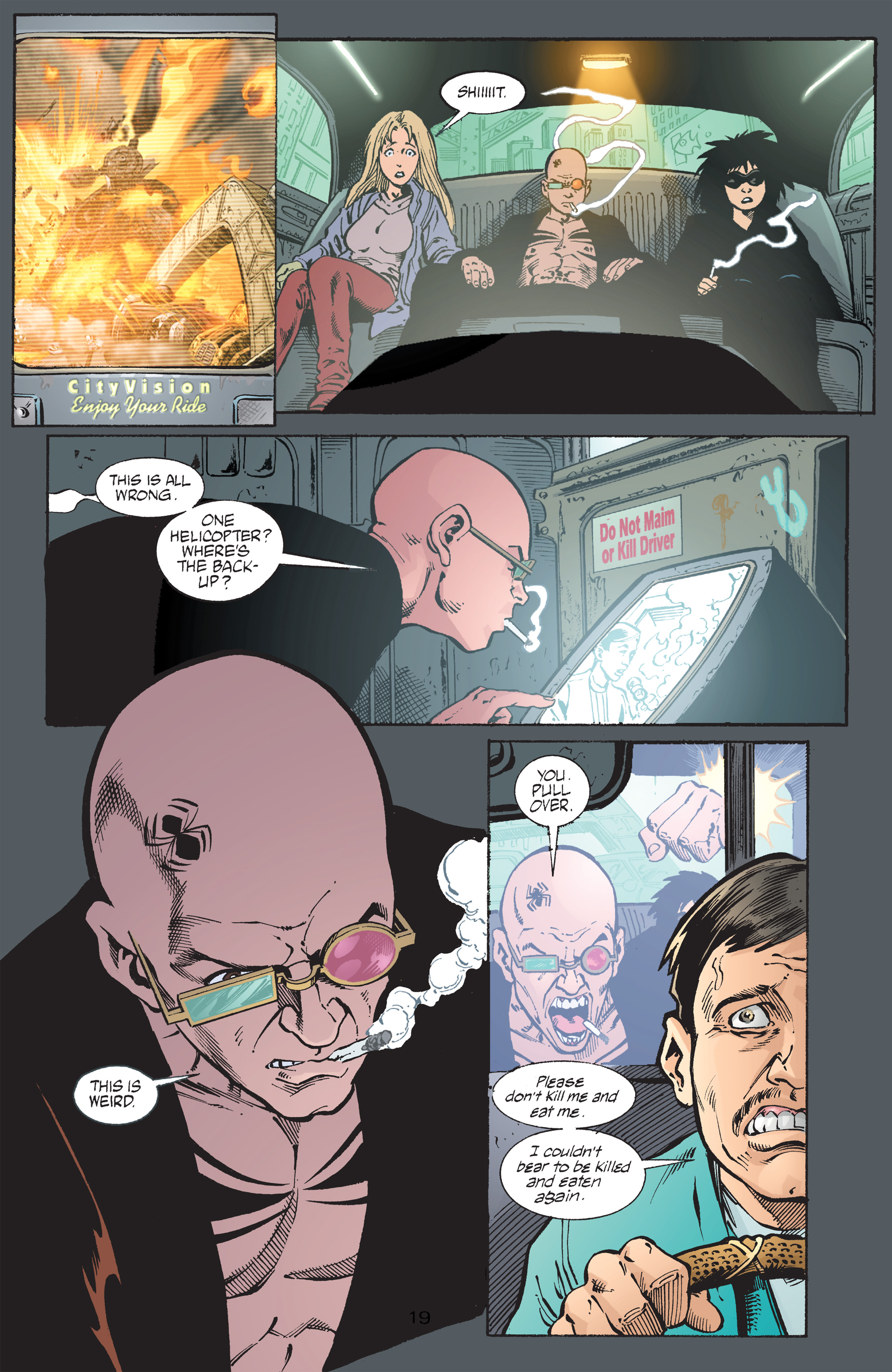 Read online Transmetropolitan comic -  Issue #43 - 20
