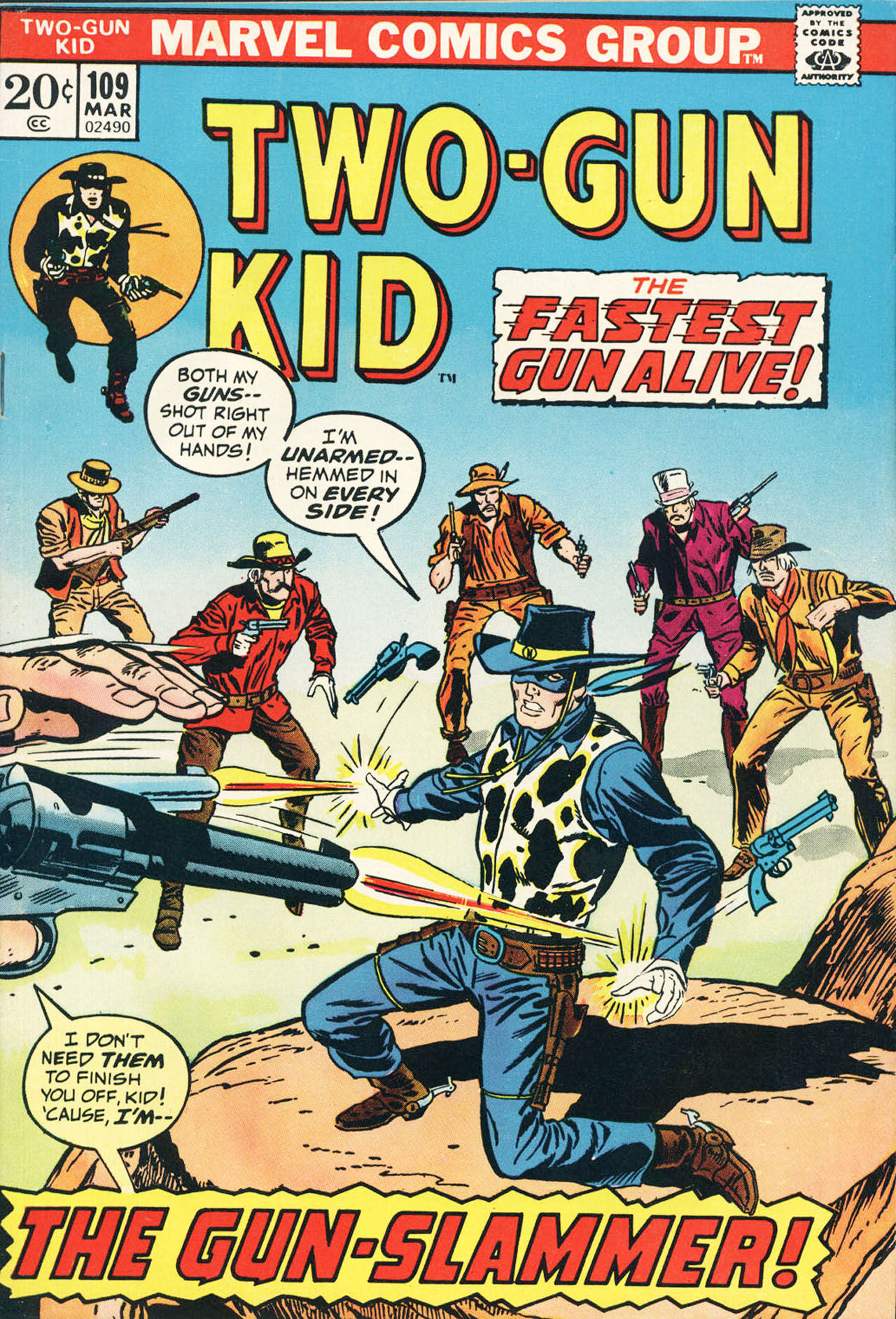 Read online Two-Gun Kid comic -  Issue #109 - 1
