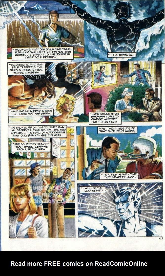 Read online Quantum Leap comic -  Issue #6 - 2
