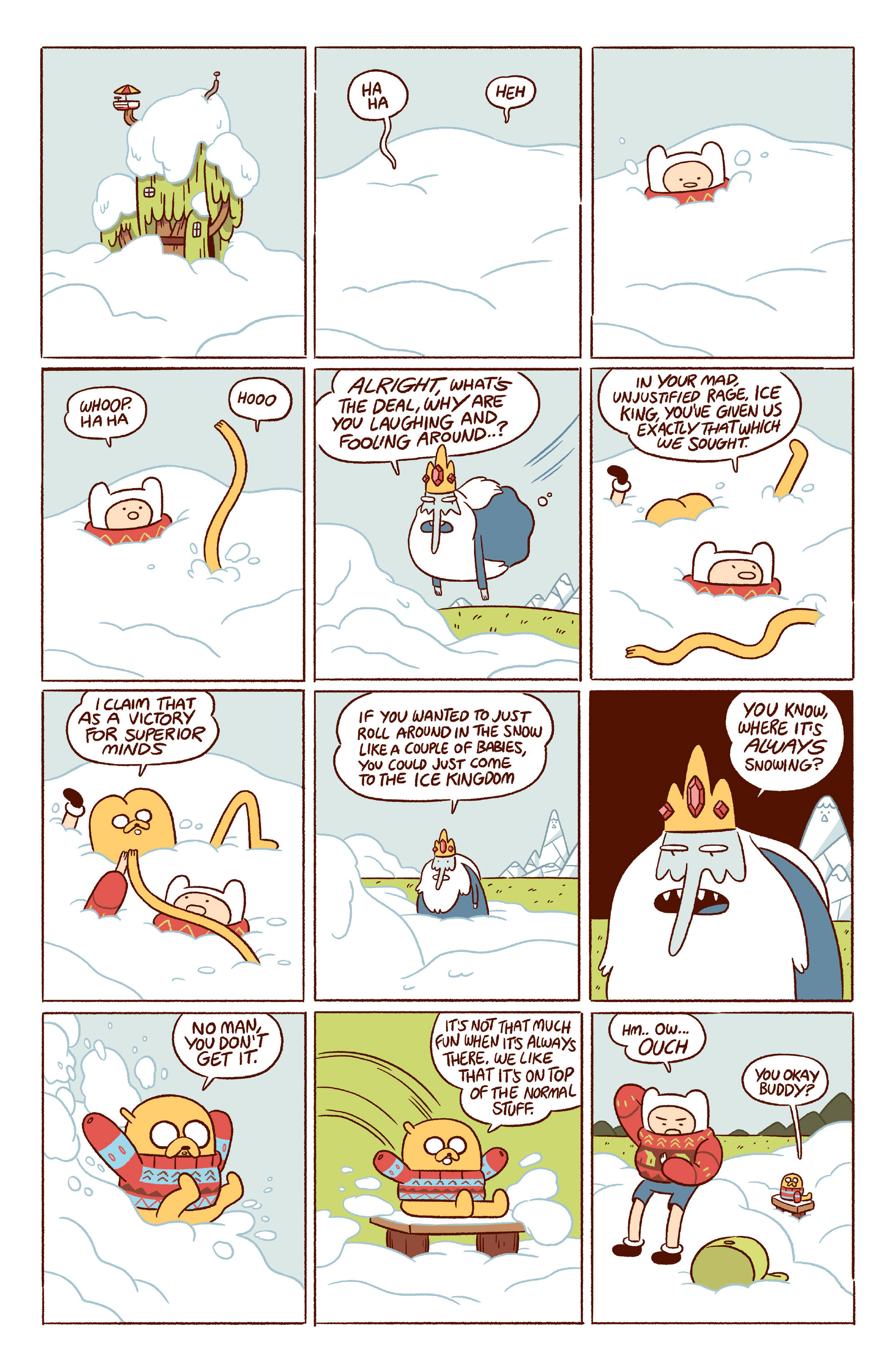 Read online Adventure Time 2014 Winter Special comic -  Issue #Adventure Time 2014 Winter Special Full - 9