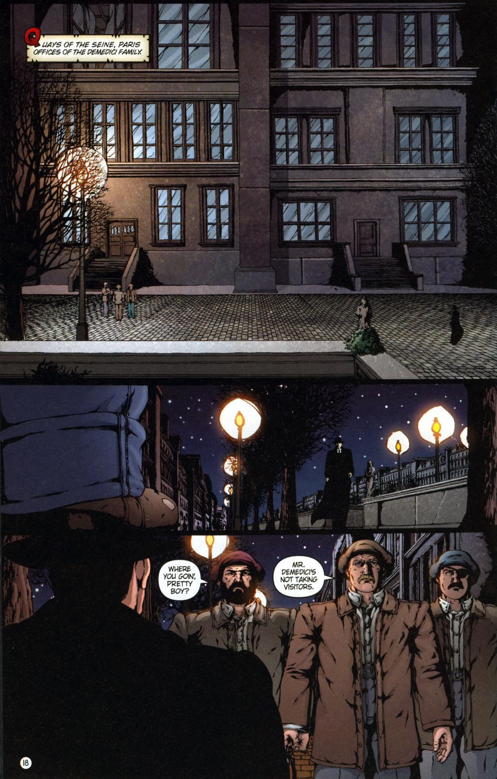 Read online Rex Mundi comic -  Issue #7 - 22