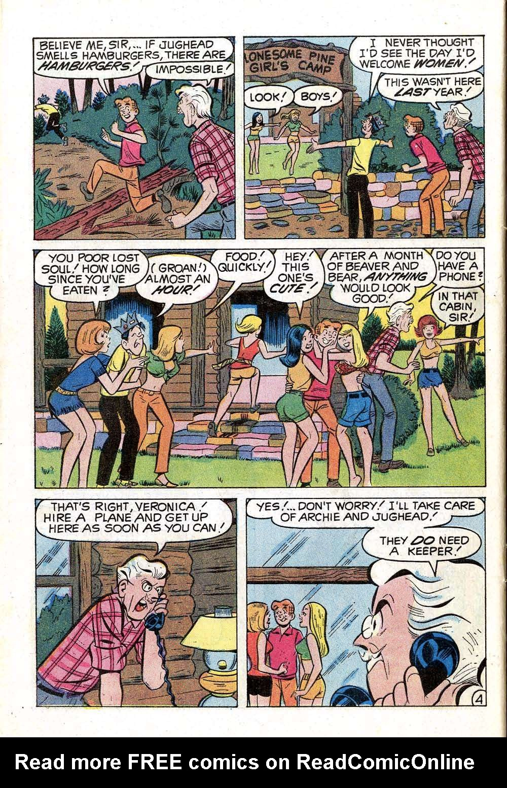 Read online Archie (1960) comic -  Issue #203 - 32