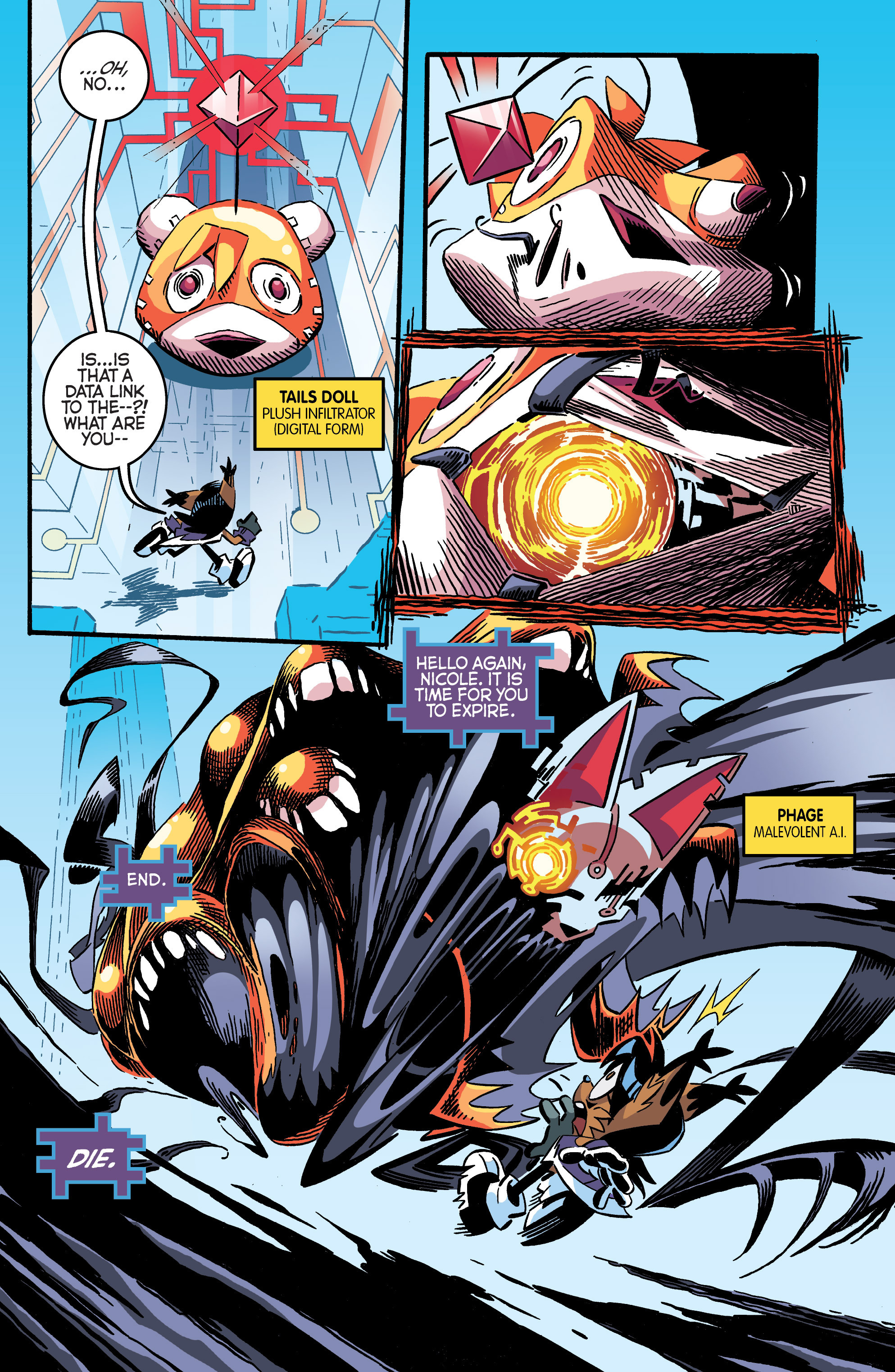 Read online Sonic The Hedgehog comic -  Issue #284 - 5