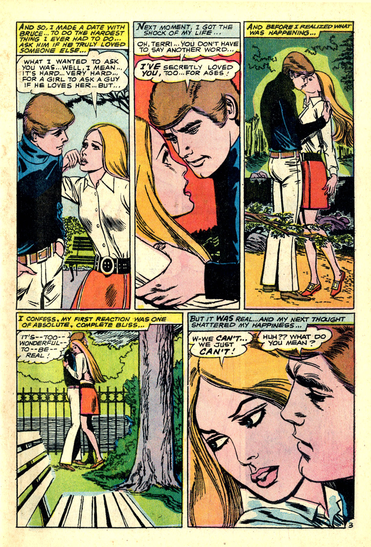 Read online Secret Hearts comic -  Issue #132 - 40