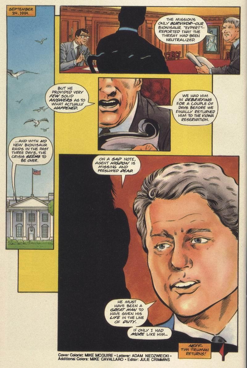 Read online Turok, Dinosaur Hunter (1993) comic -  Issue #19 - 22