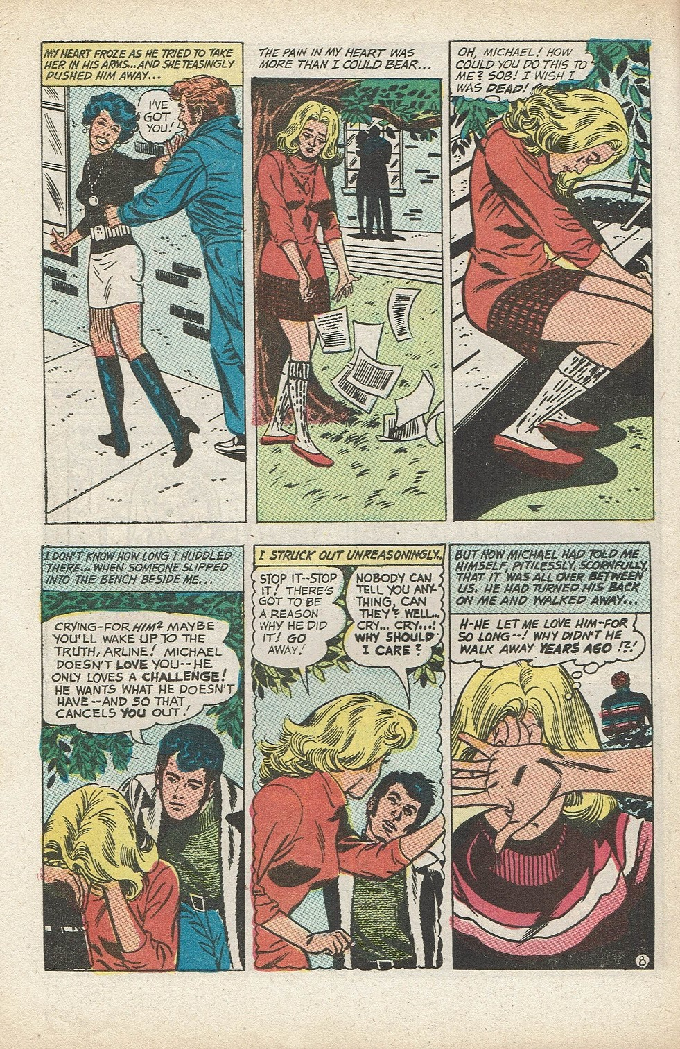 Read online Secret Hearts comic -  Issue #153 - 30