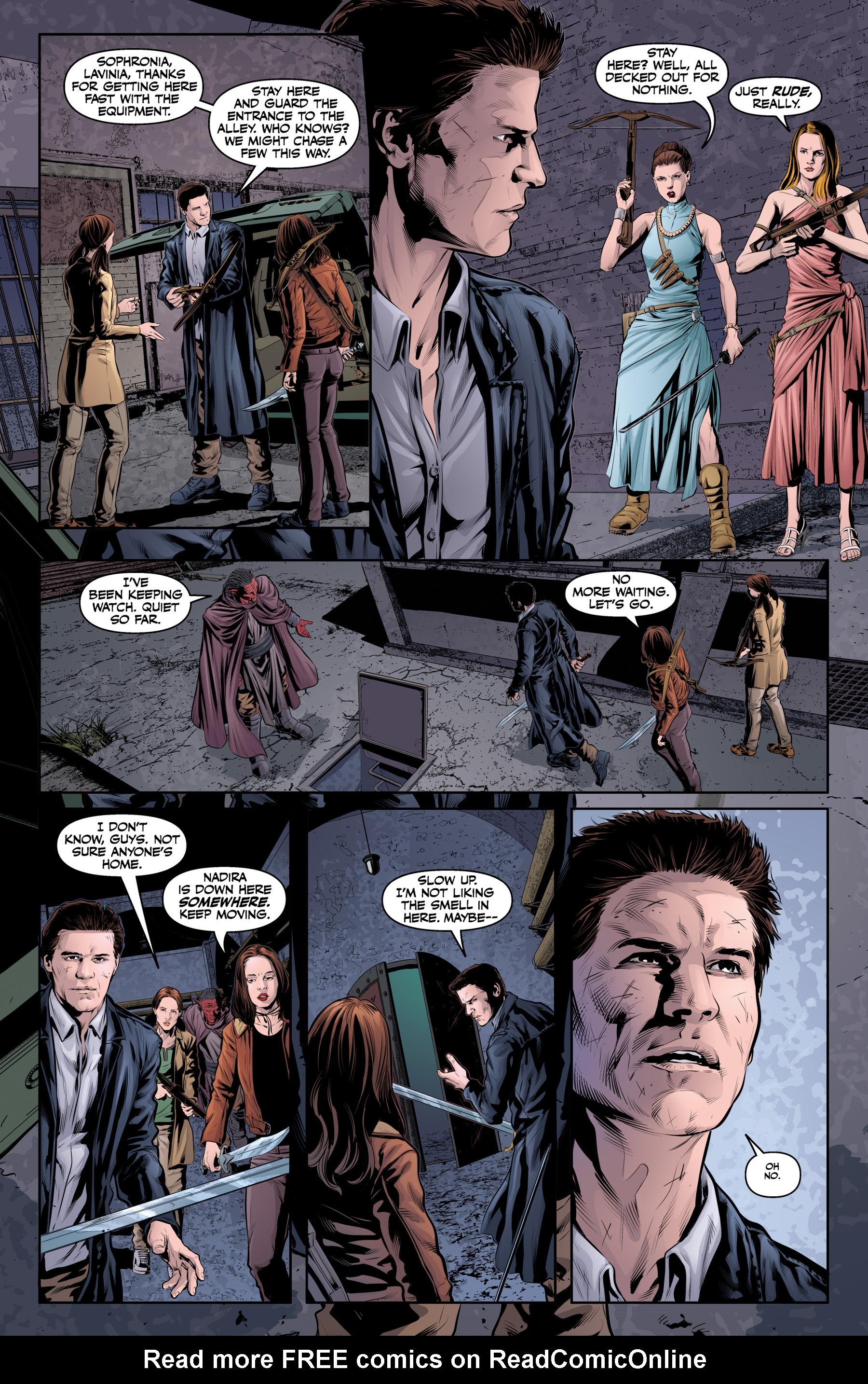 Read online Angel & Faith Season 10 comic -  Issue #20 - 21
