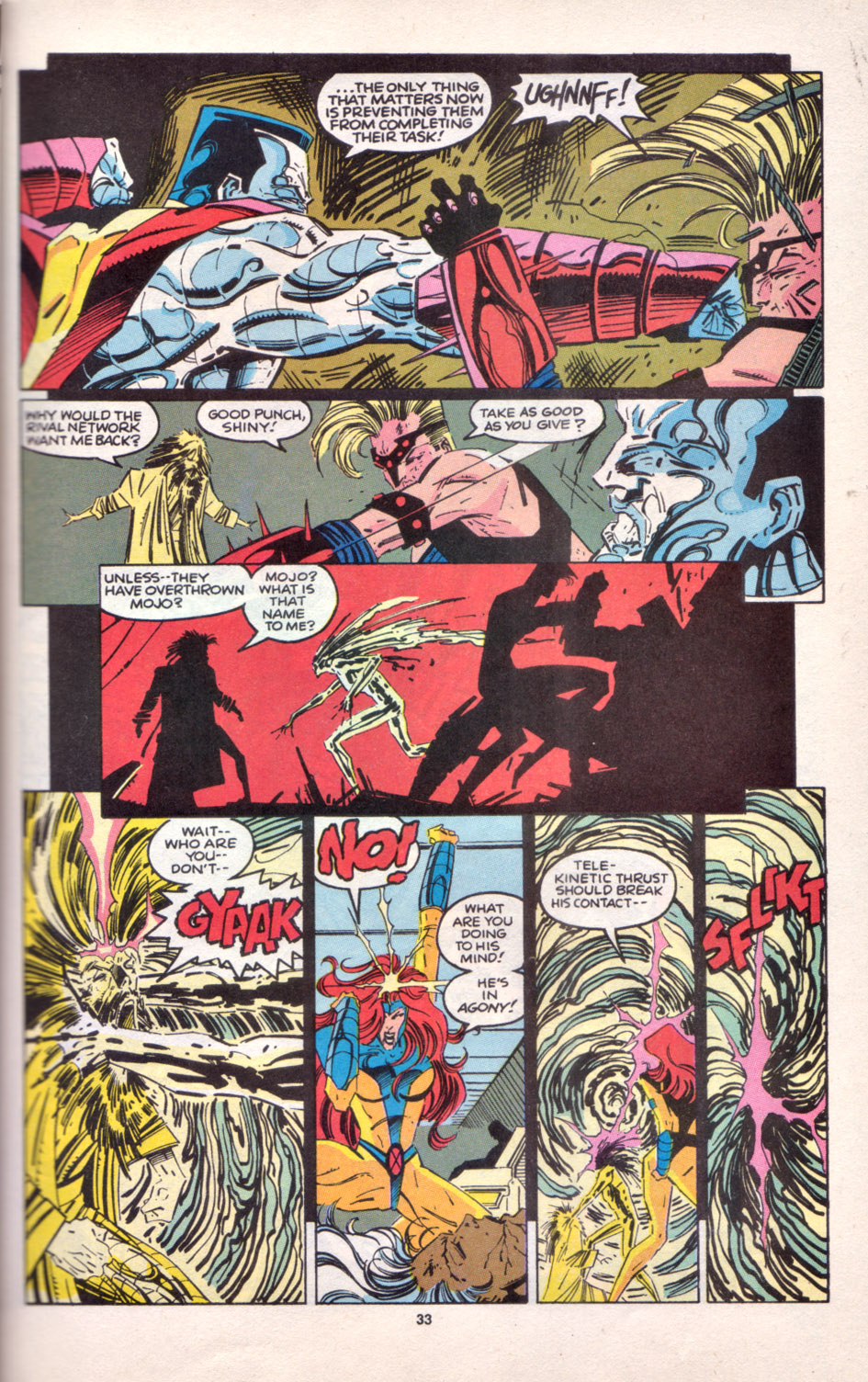 Read online Uncanny X-Men (1963) comic -  Issue # _Annual 16 - 27
