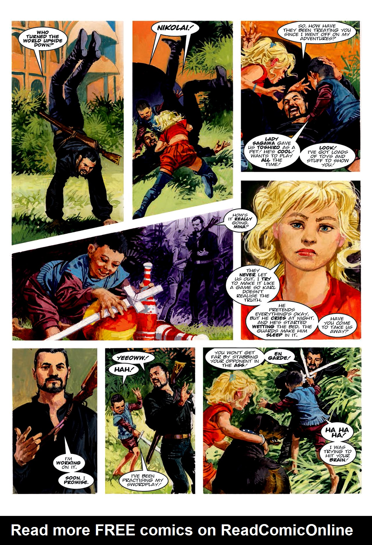 Read online Nikolai Dante comic -  Issue # TPB 6 - 157