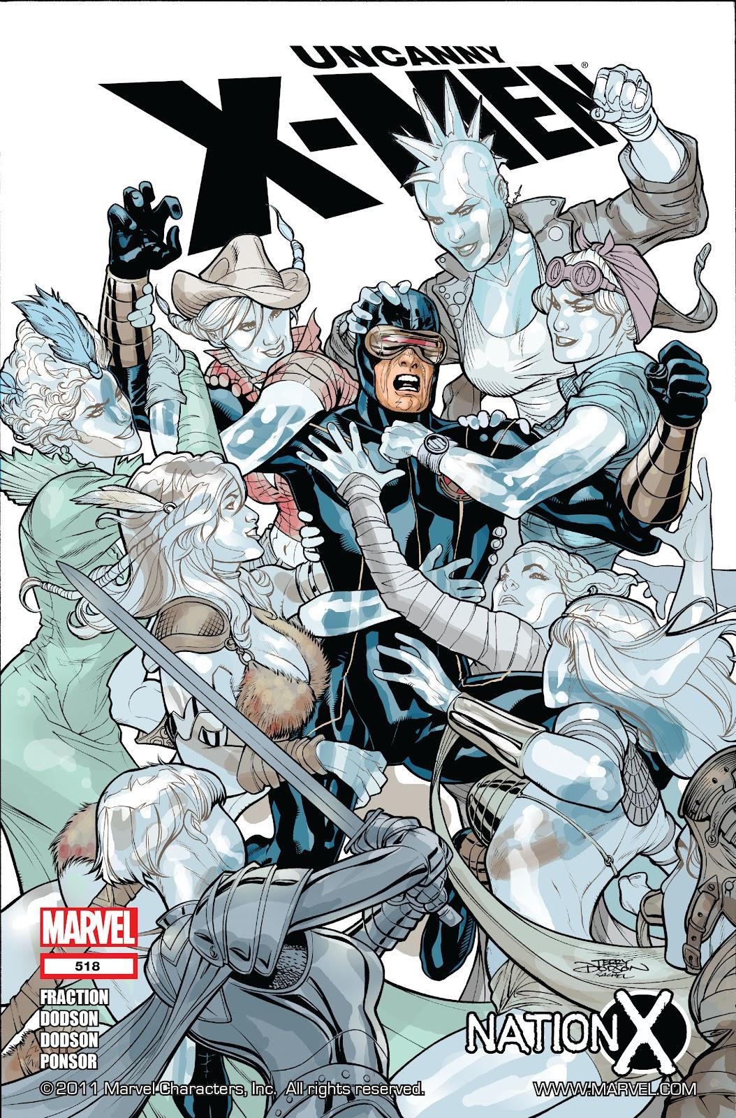 Uncanny X-Men (1963) issue 518 - Page 1