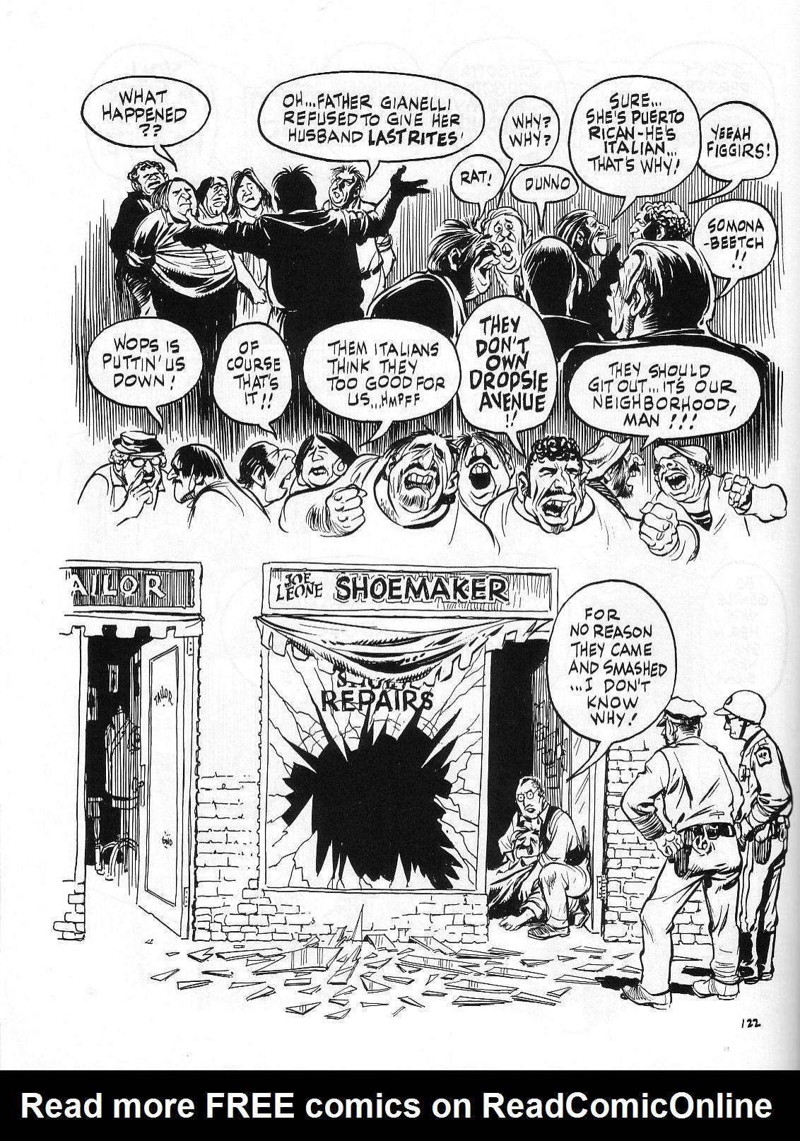 Read online Dropsie Avenue, The Neighborhood comic -  Issue # Full - 124