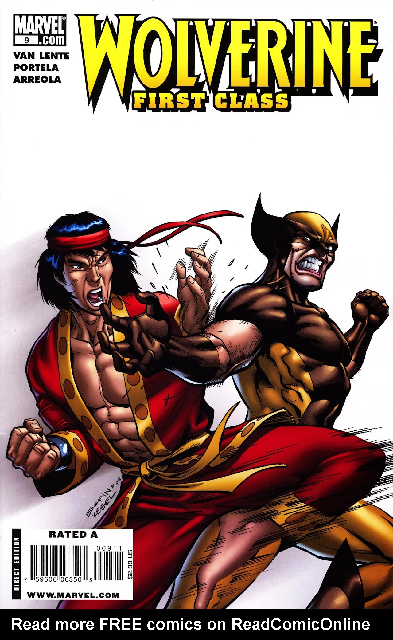 Read online Wolverine: First Class comic -  Issue #9 - 1