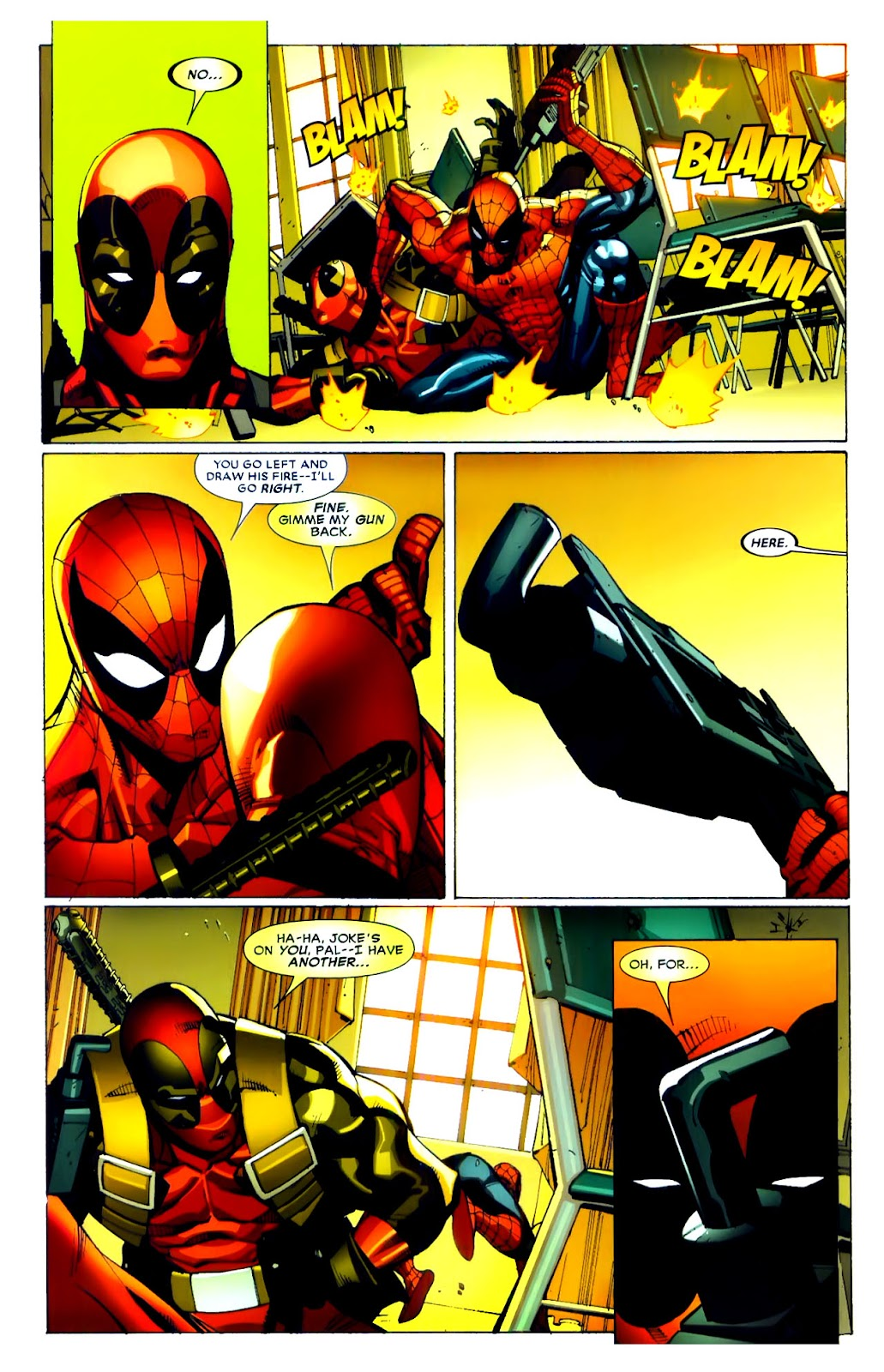 Read online Deadpool (2008) comic -  Issue #21 - 16