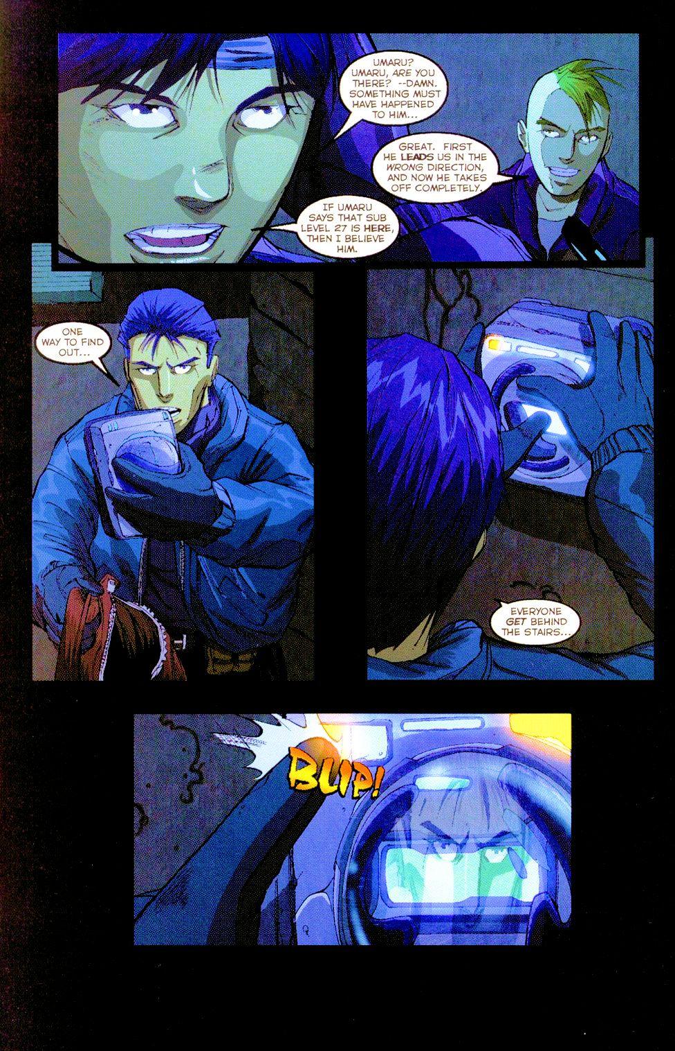 Darkminds (1998) Issue #8 #9 - English 8