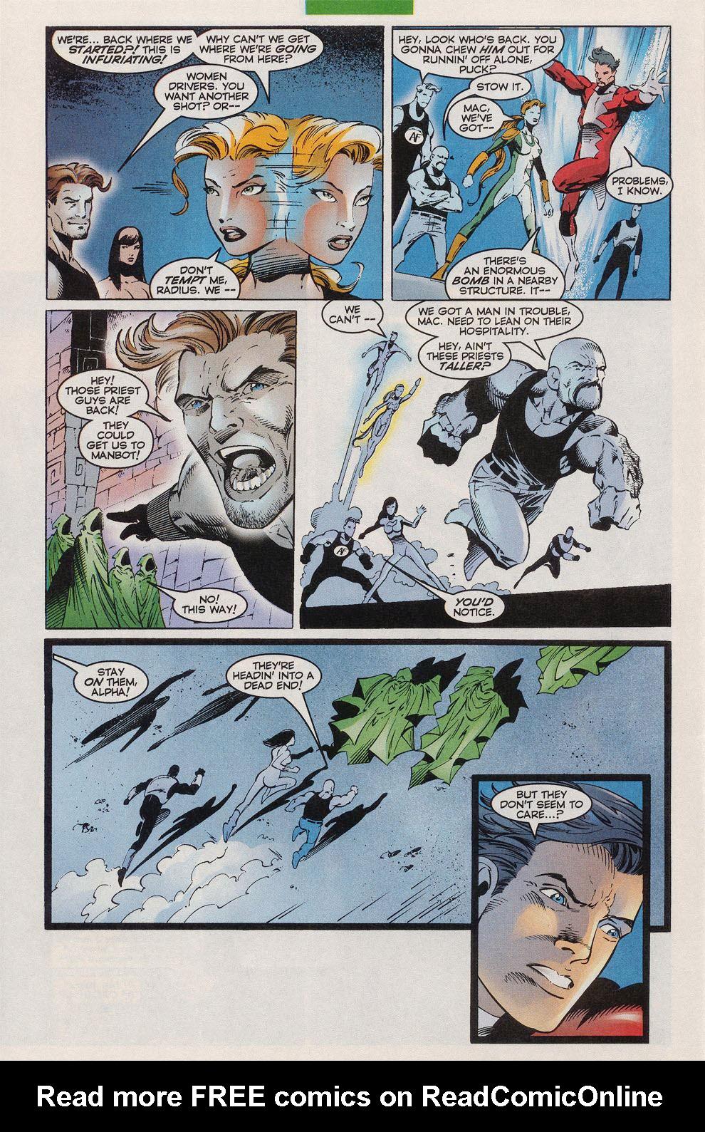 Read online Alpha Flight (1997) comic -  Issue #10 - 22