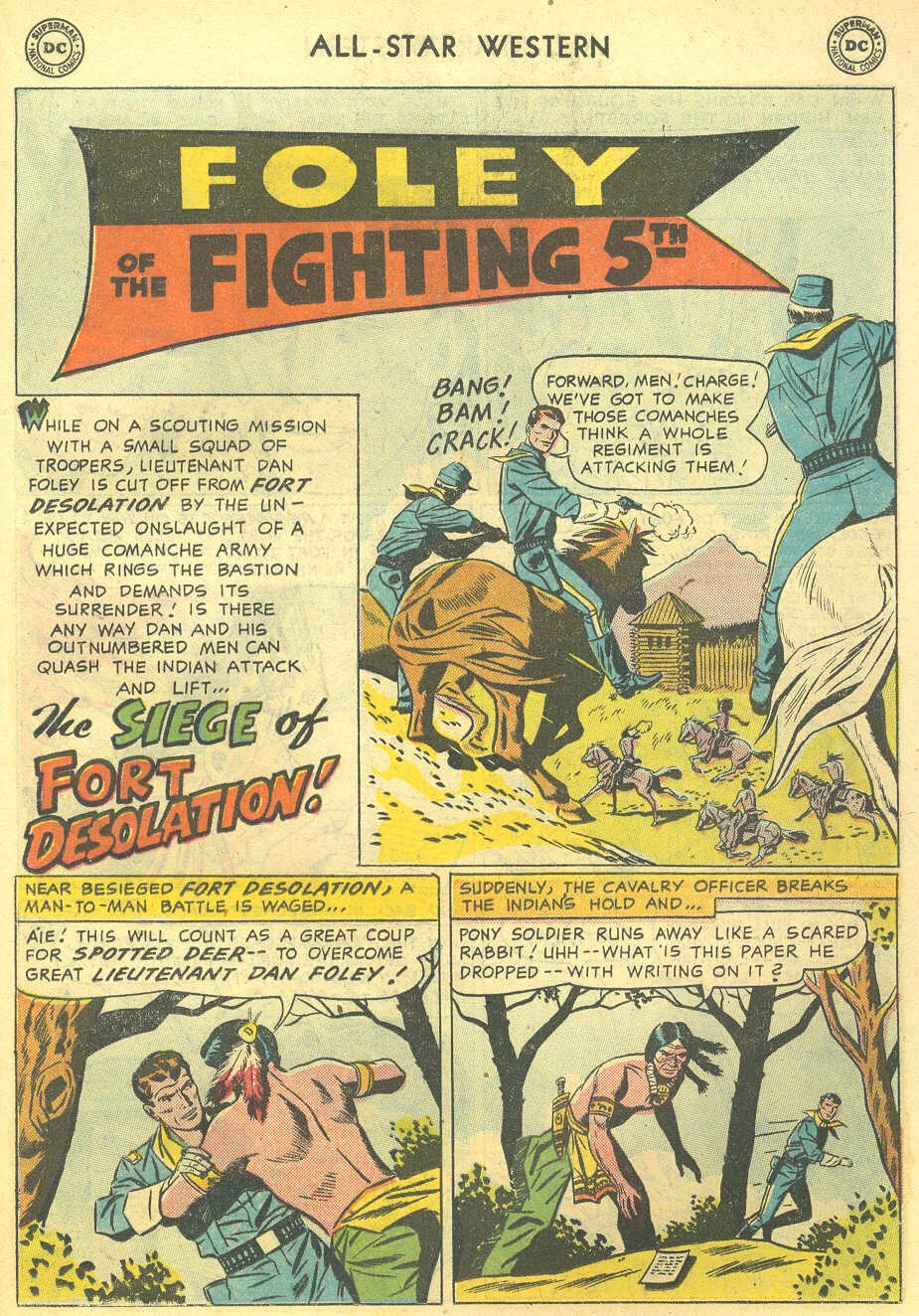 Read online All-Star Western (1951) comic -  Issue #95 - 19