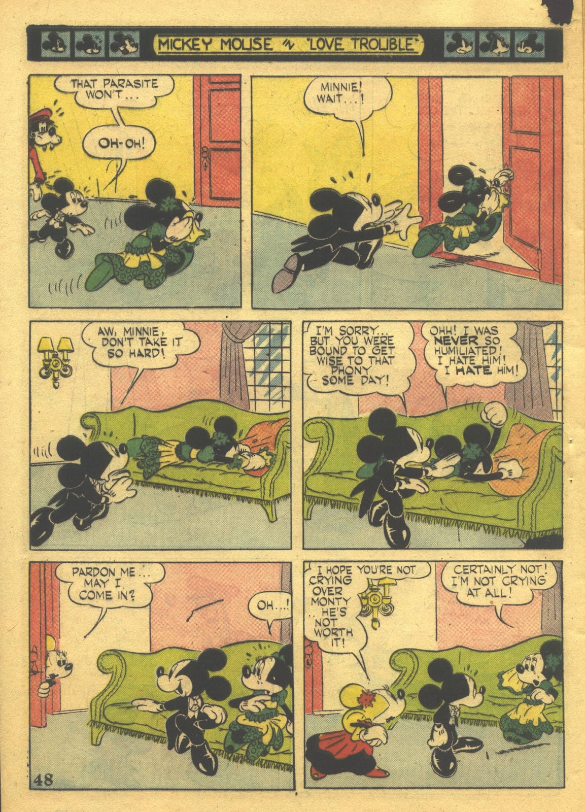Walt Disney's Comics and Stories issue 39 - Page 50