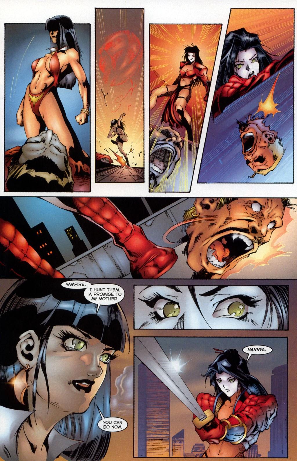 Shi/Vampirella issue Full - Page 11