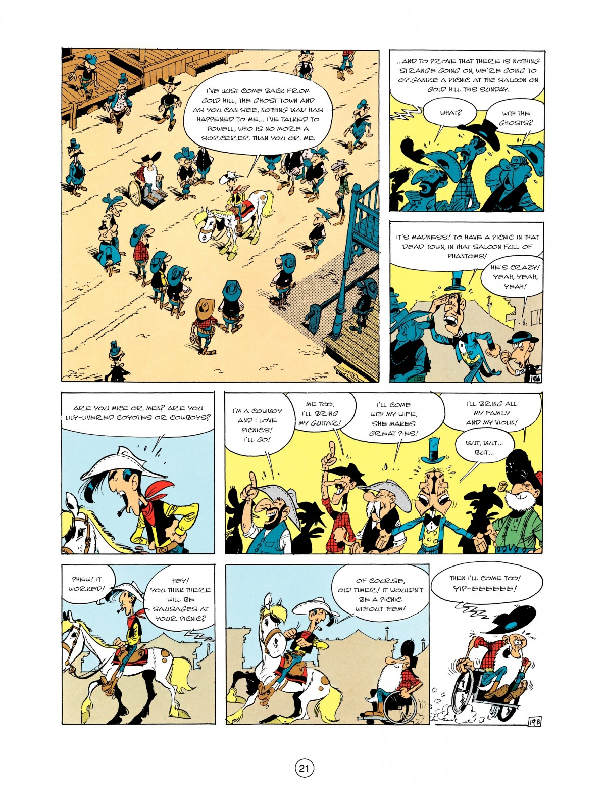 Read online A Lucky Luke Adventure comic -  Issue #2 - 23
