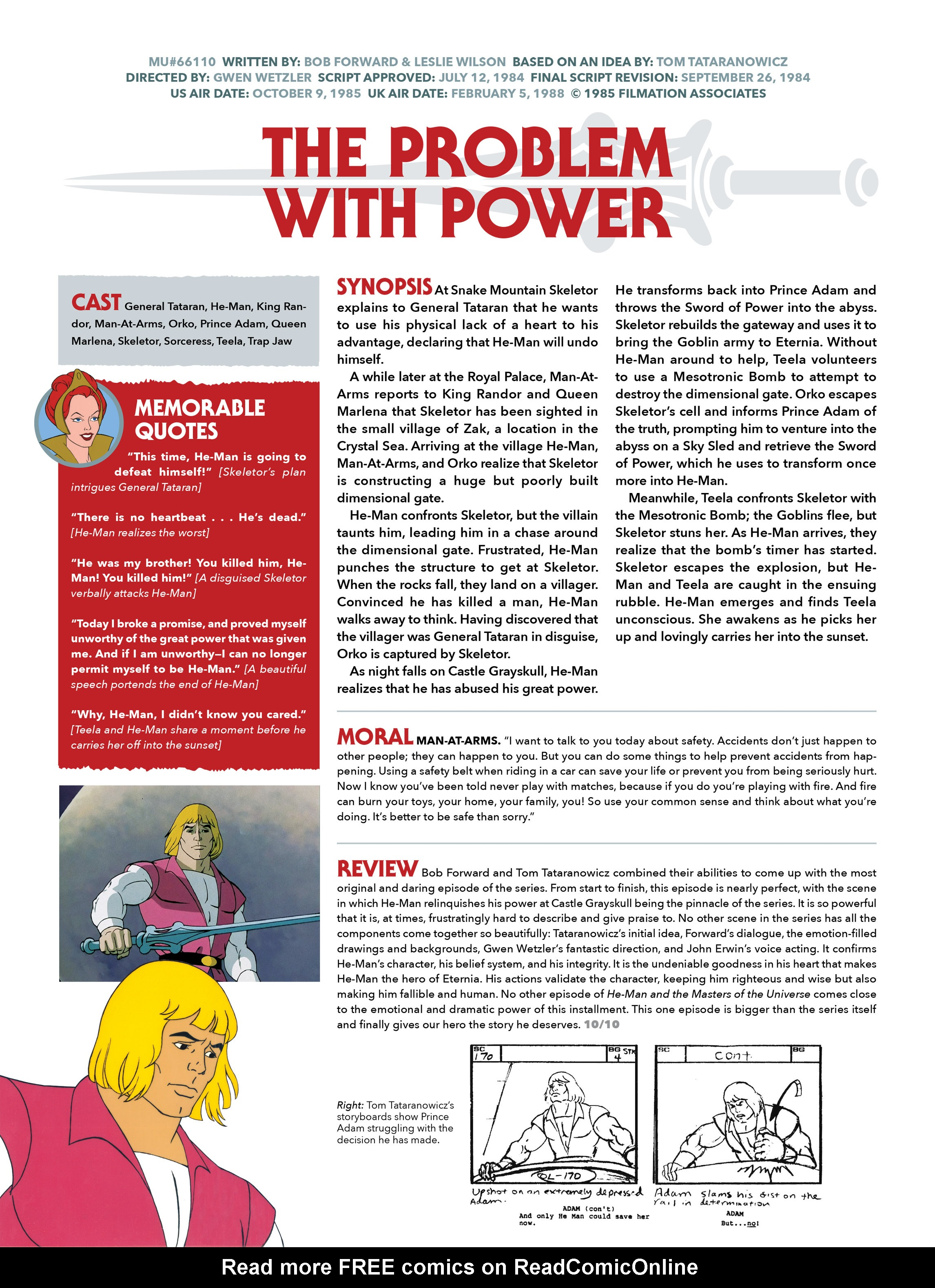 Read online He-Man and She-Ra: A Complete Guide to the Classic Animated Adventures comic -  Issue # TPB (Part 2) - 97