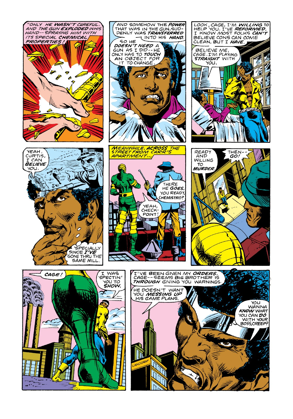 Read online Marvel Masterworks: Luke Cage, Power Man comic -  Issue # TPB 3 (Part 2) - 34