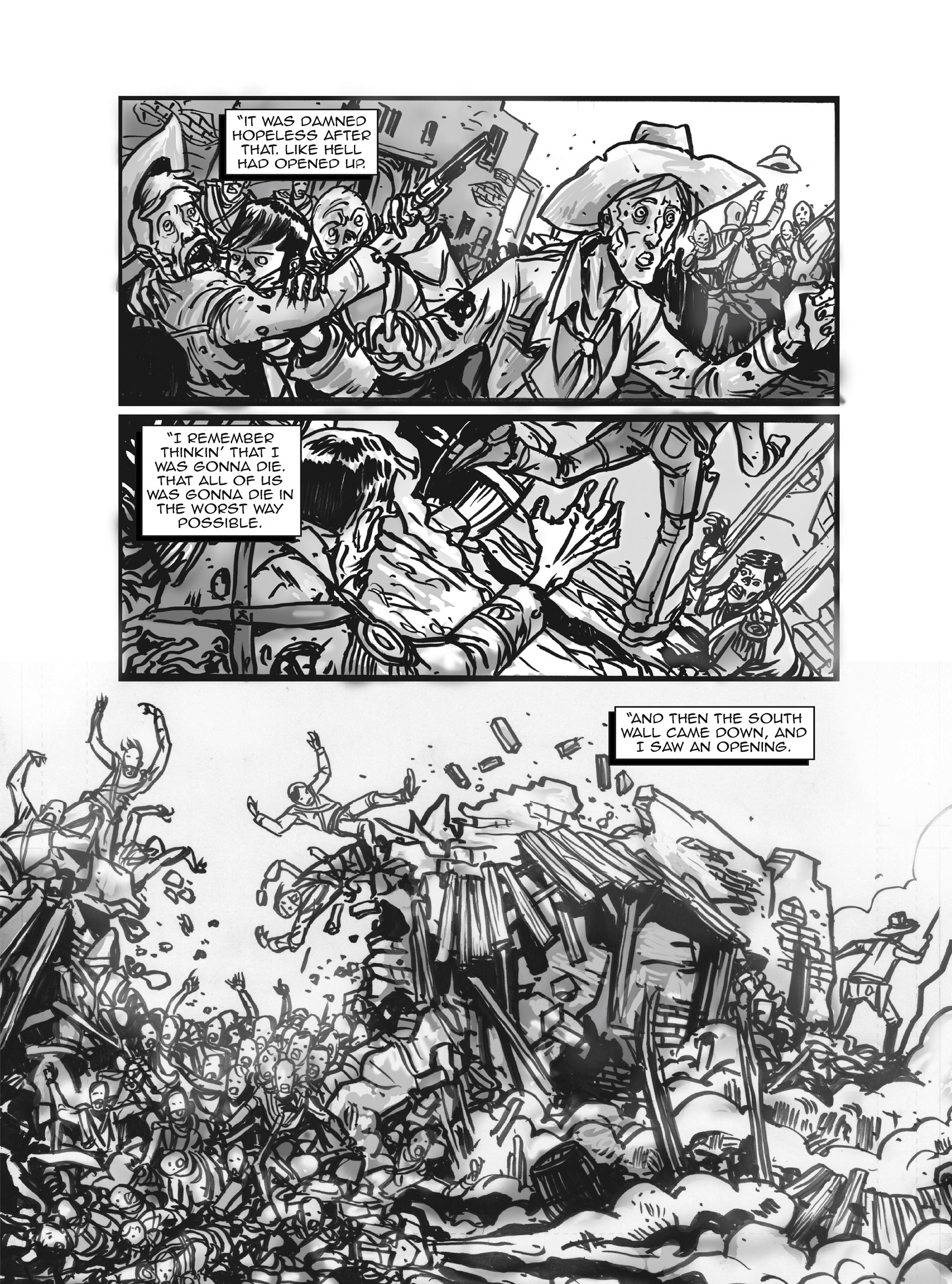 Read online FUBAR comic -  Issue #3 - 95