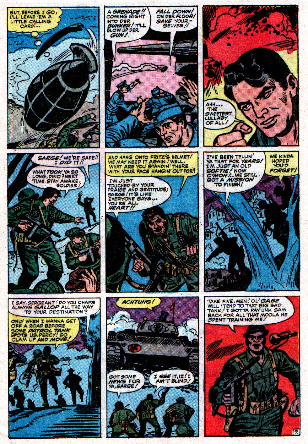 Read online Sgt. Fury comic -  Issue #8 - 13