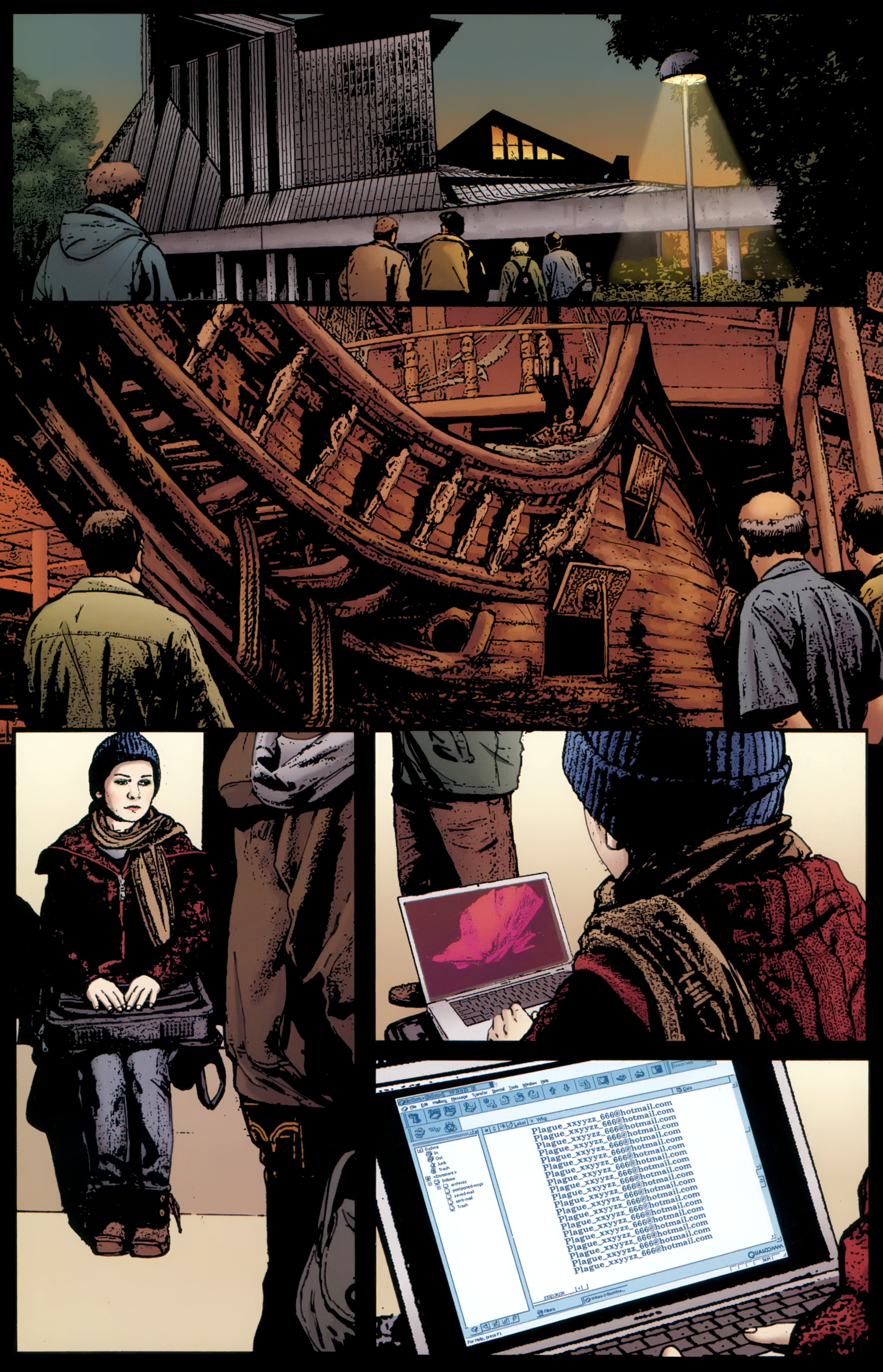 Read online The Girl With the Dragon Tattoo comic -  Issue # TPB 1 - 47