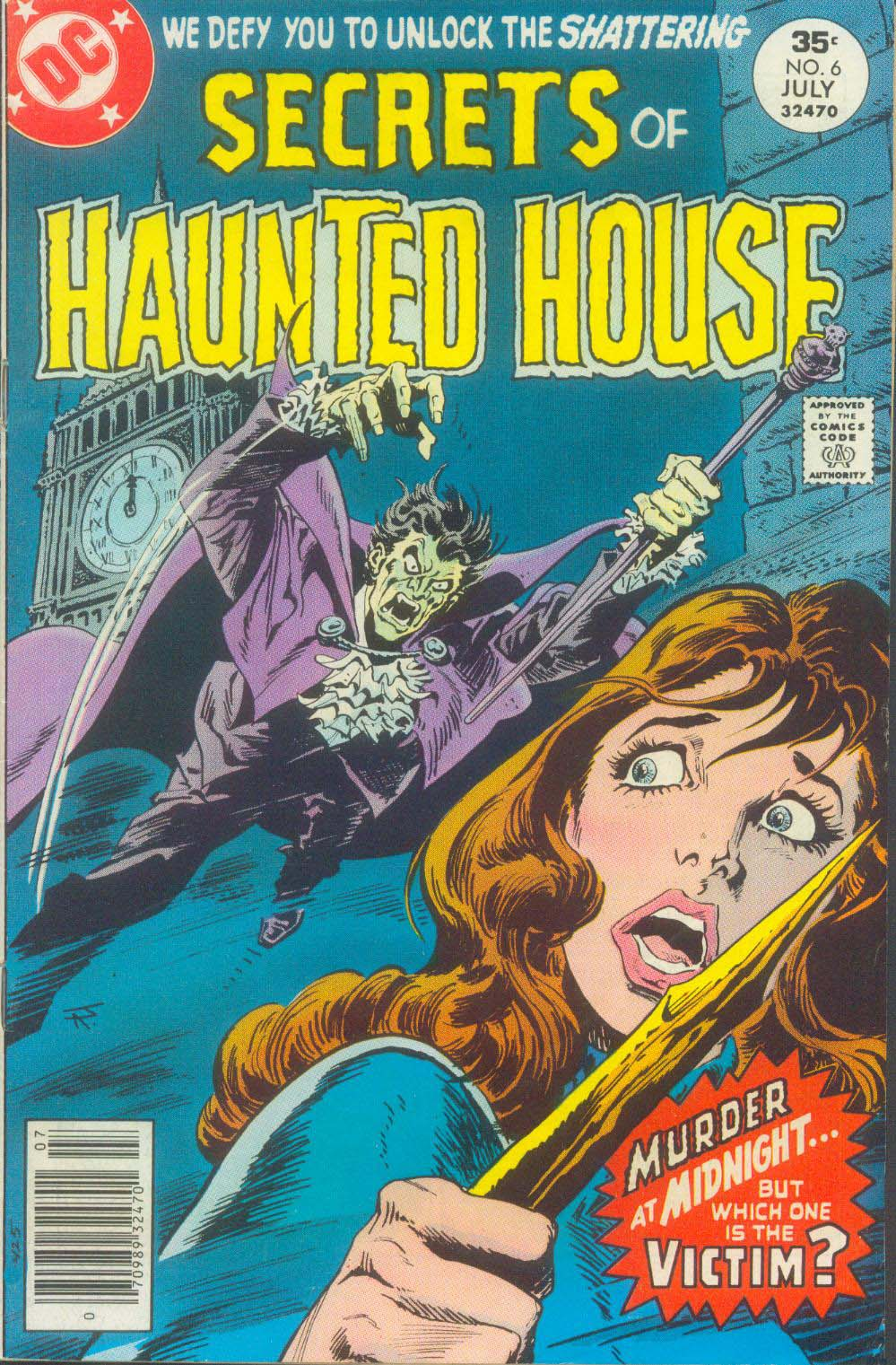 Read online Secrets of Haunted House comic -  Issue #6 - 2
