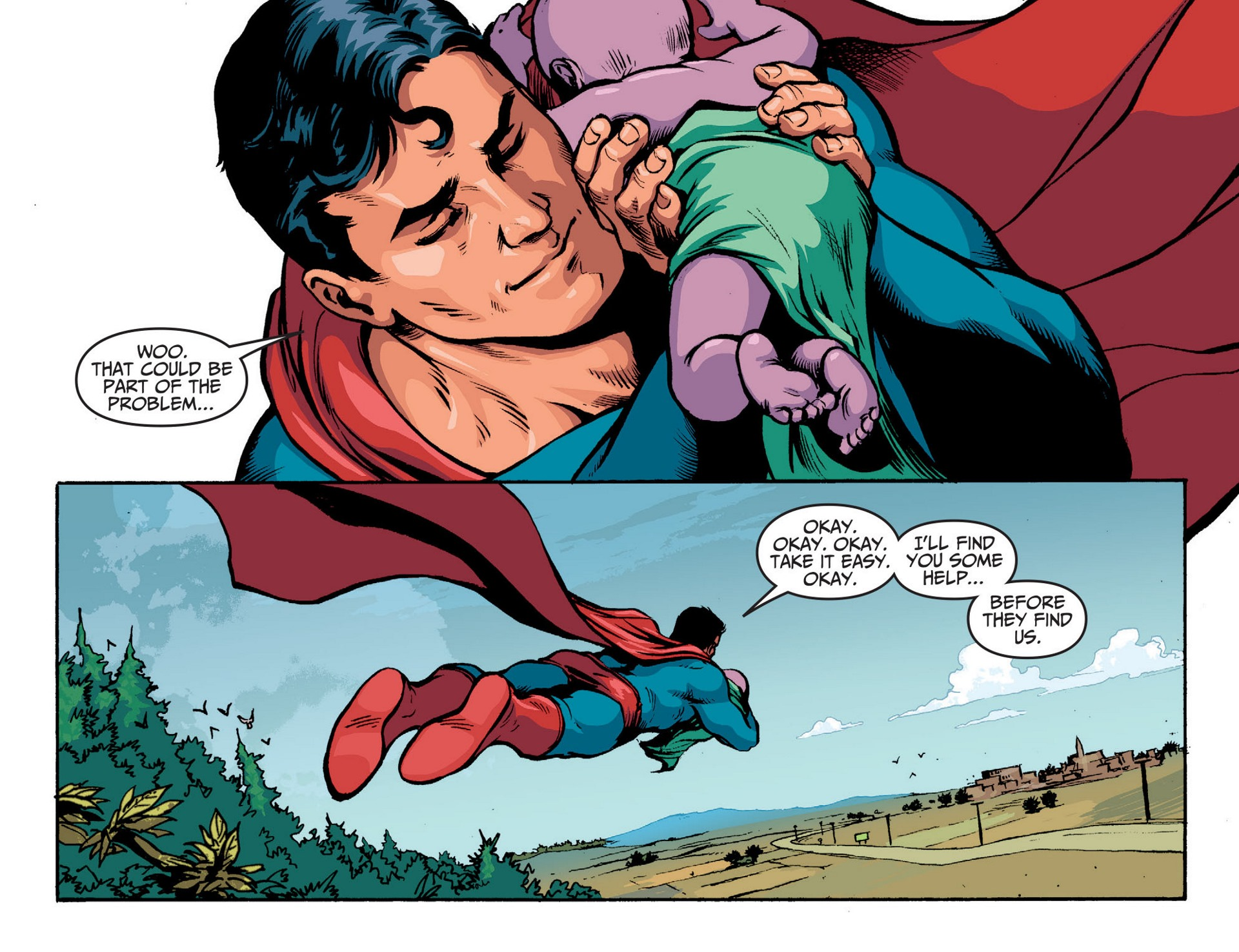 Read online Adventures of Superman [I] comic -  Issue #14 - 4