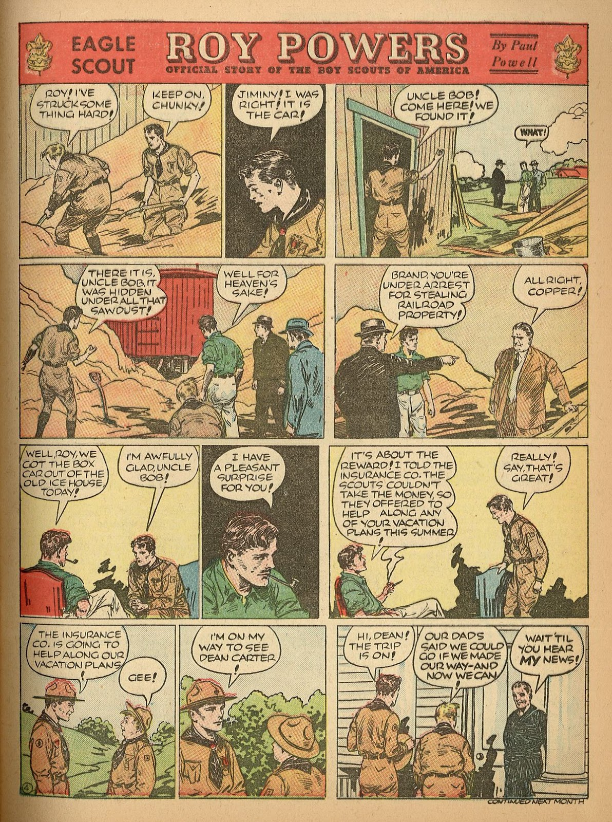 Read online Famous Funnies comic -  Issue #55 - 9