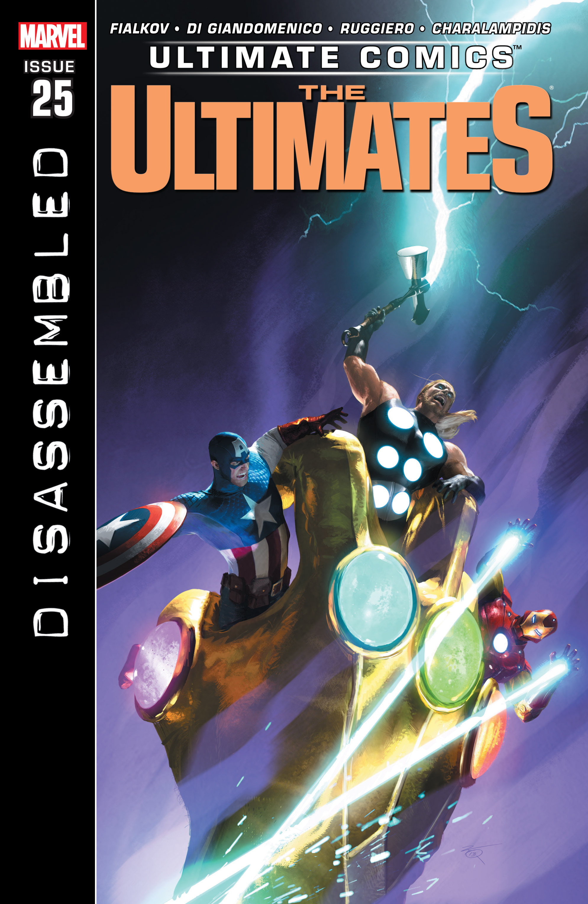 Read online Ultimate Comics Ultimates comic -  Issue #25 - 1