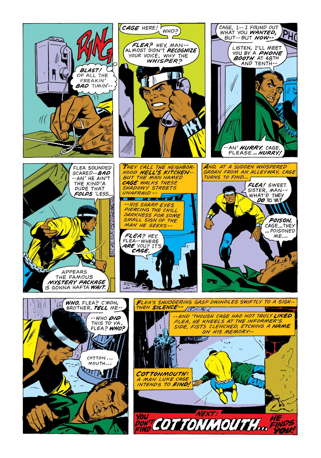 Read online Marvel Masterworks: Luke Cage, Power Man comic -  Issue # TPB 2 (Part 1) - 48