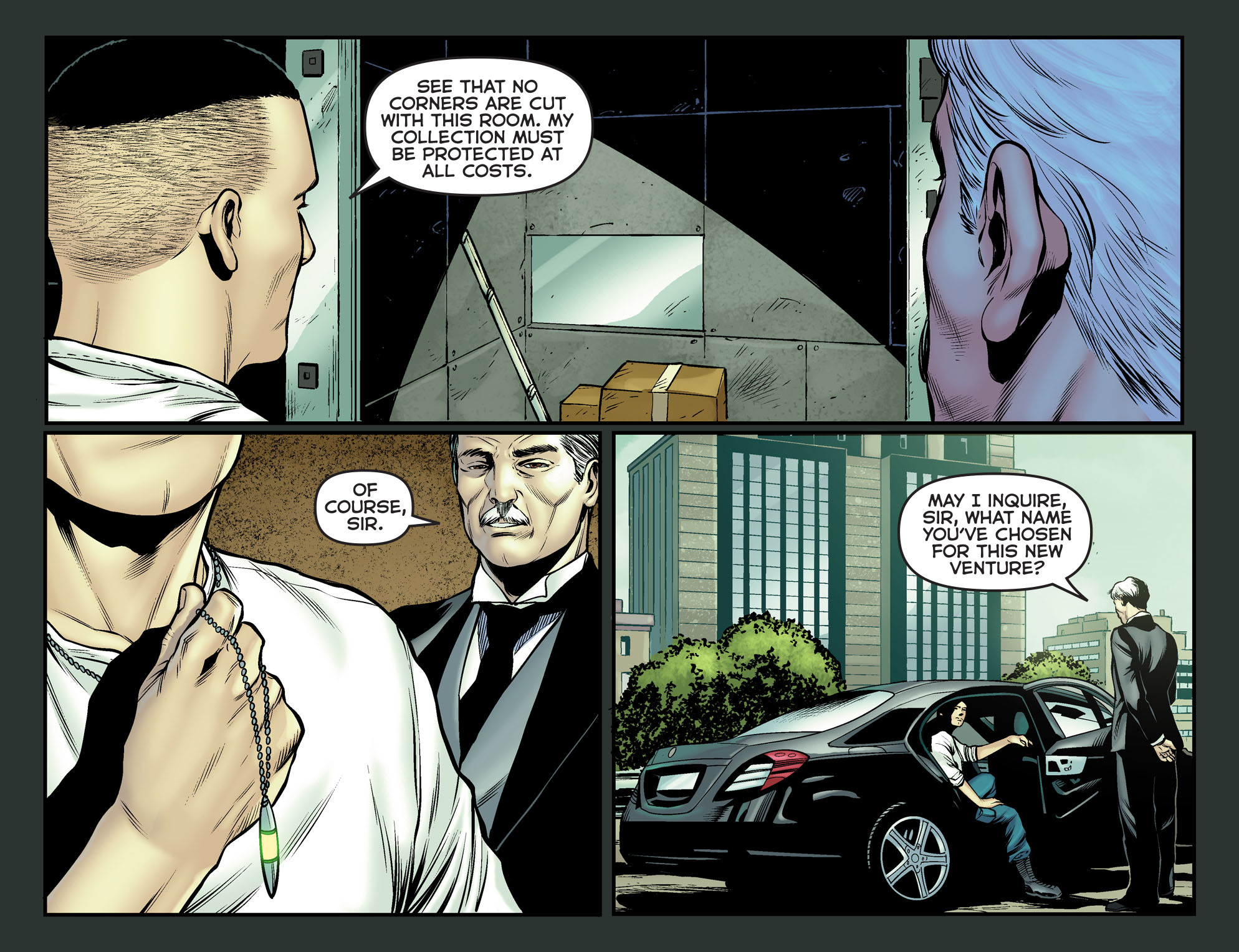 Read online Arrow: The Dark Archer comic -  Issue #12 - 20