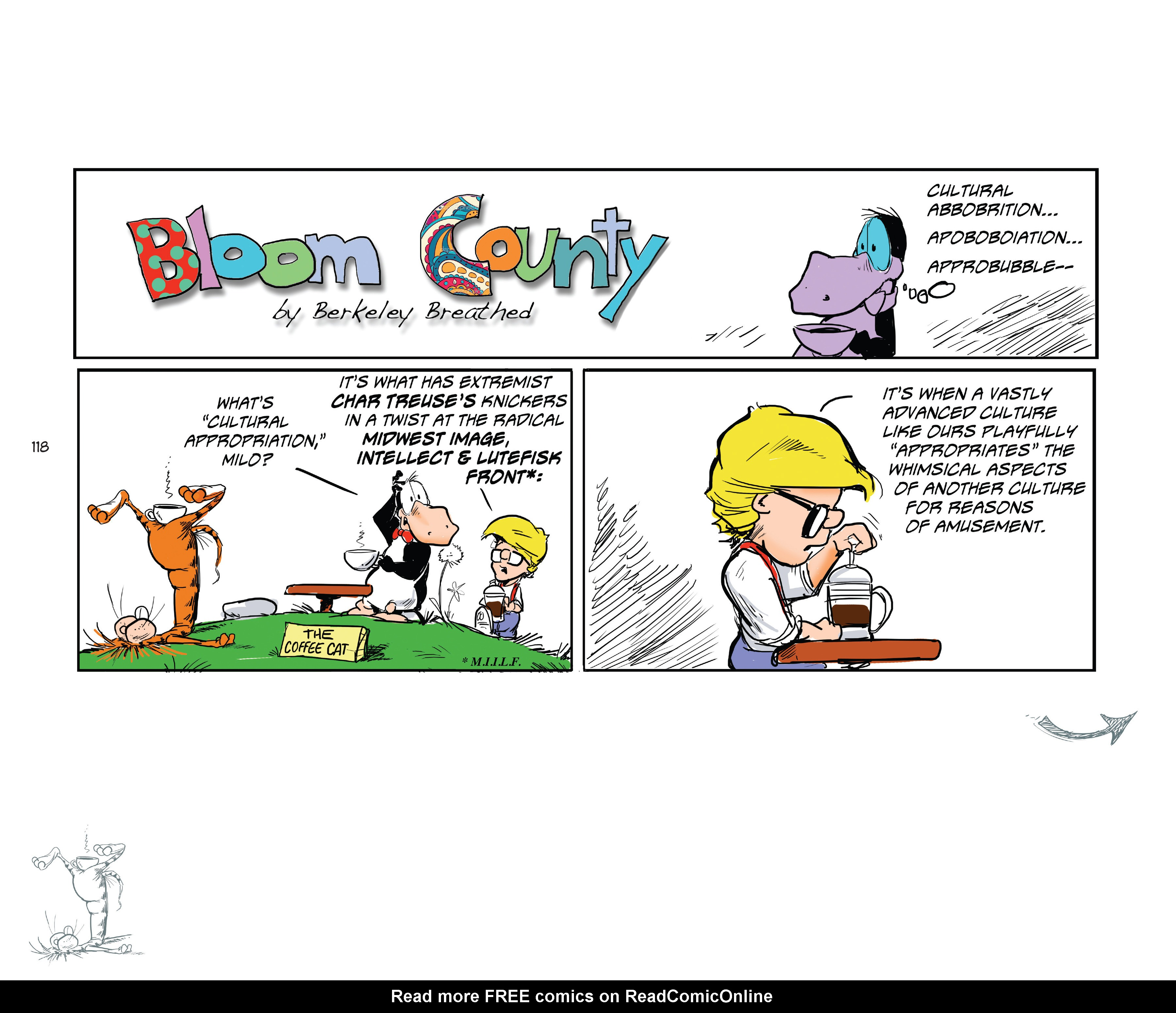 Read online Bloom County Episode XI: A New Hope comic -  Issue # Full - 120