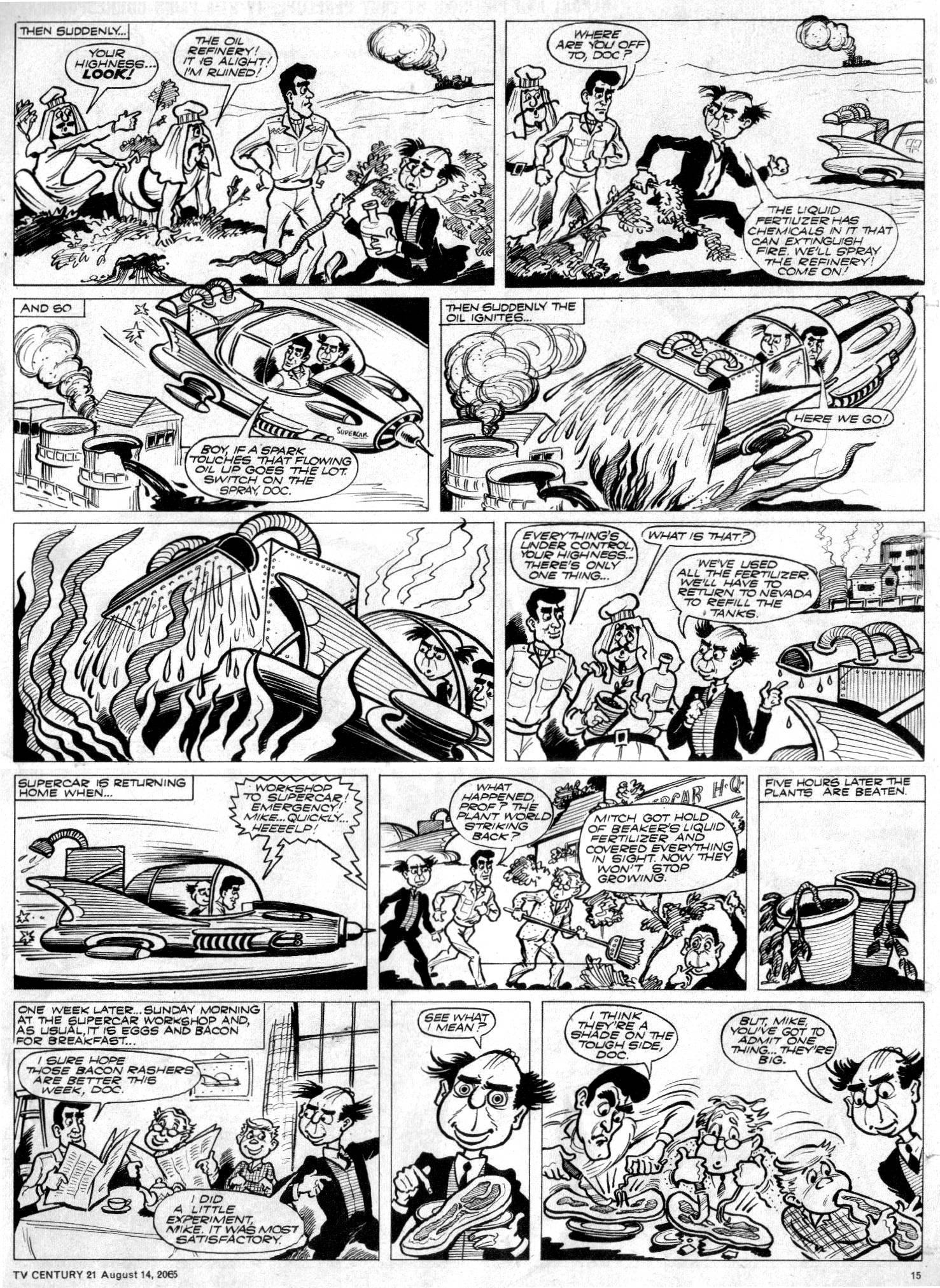 Read online TV Century 21 (TV 21) comic -  Issue #30 - 14