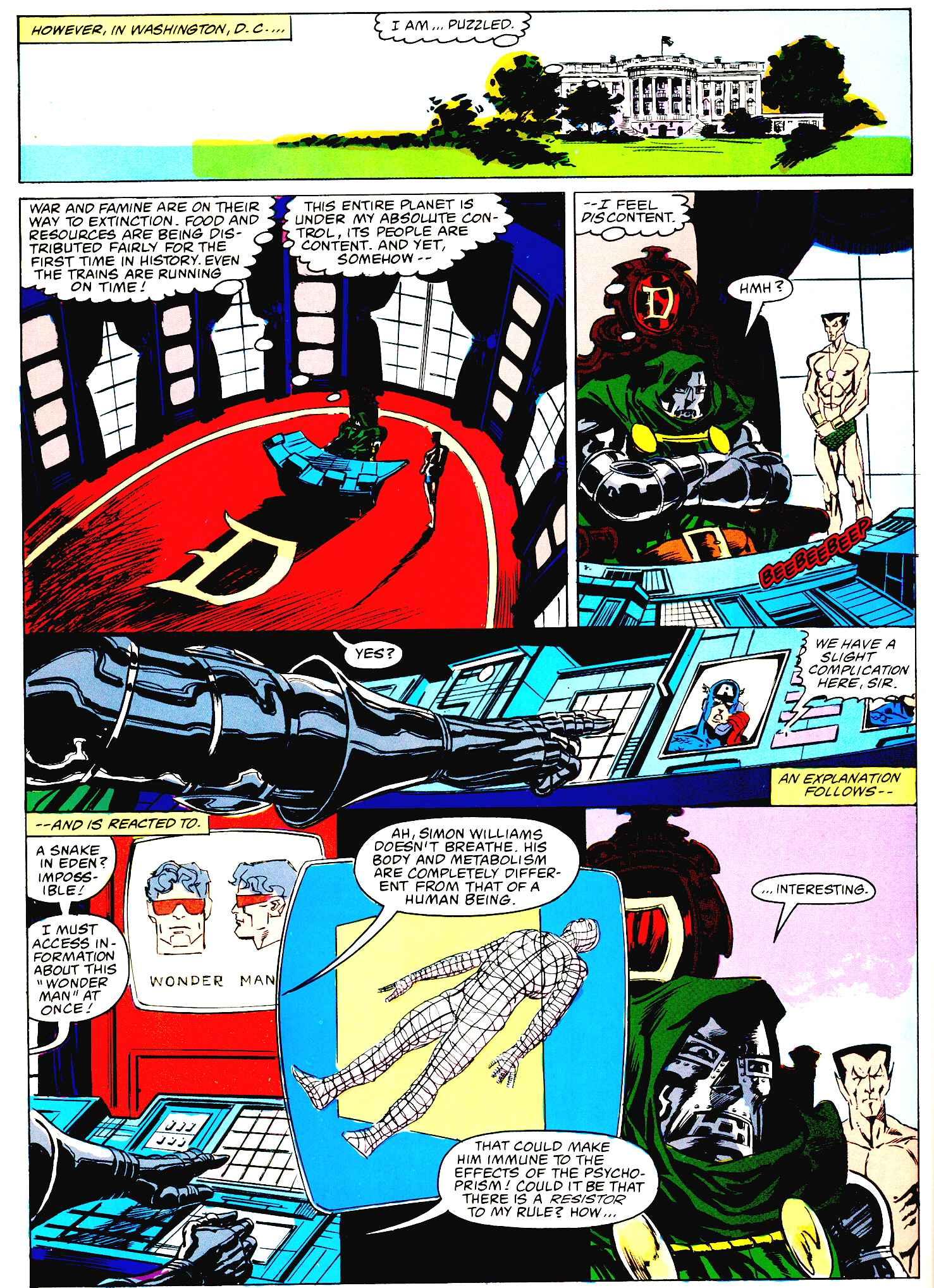 scans_daily | Marvel Graphic Novel #27 - Emperor Doom