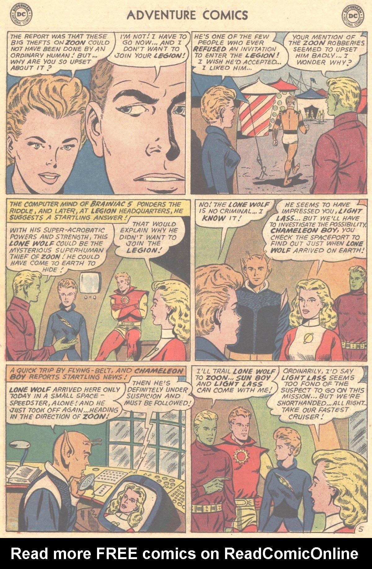 Read online Adventure Comics (1938) comic -  Issue #327 - 6