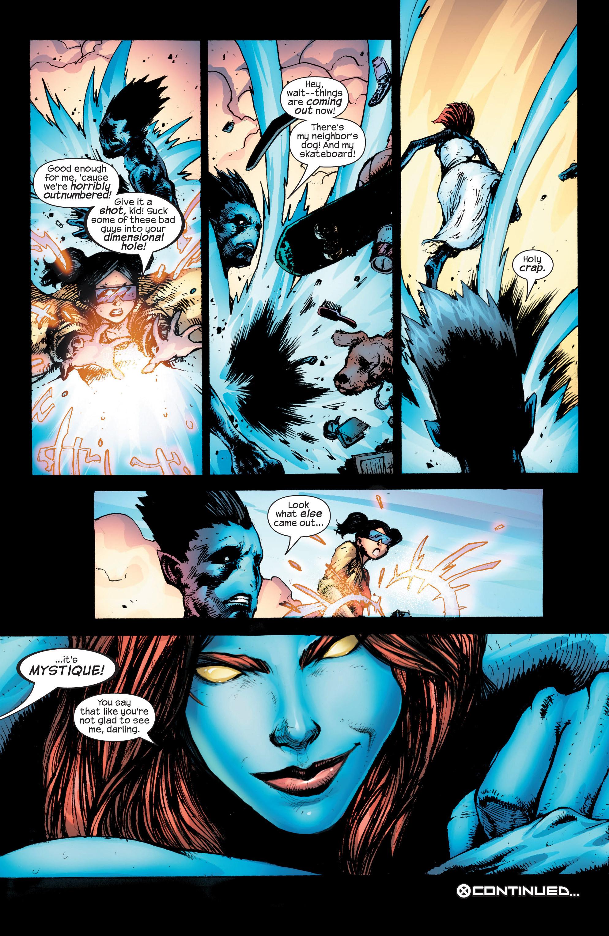 Read online Uncanny X-Men (1963) comic -  Issue #431 - 21