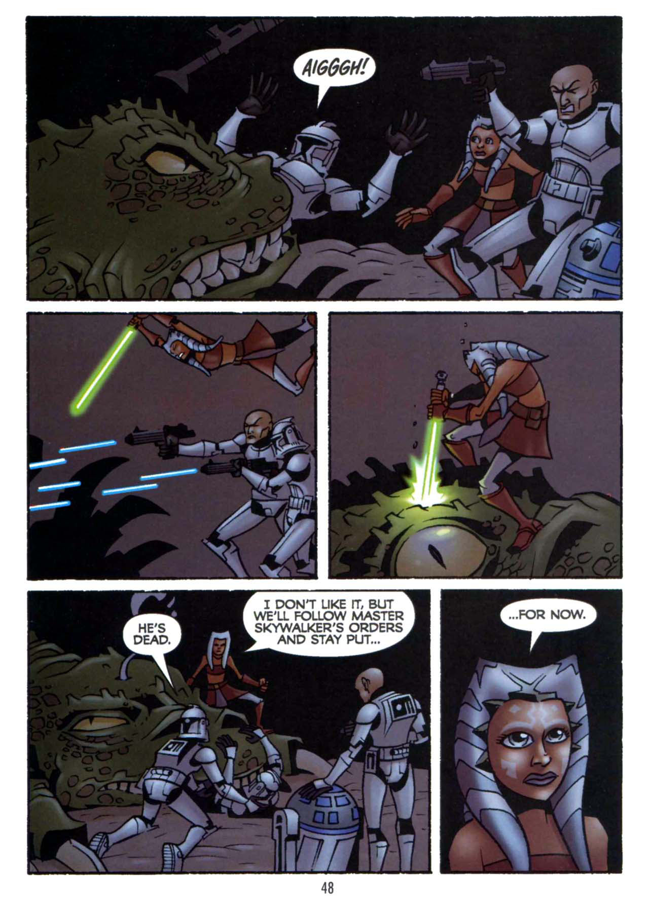 Read online Star Wars: The Clone Wars - Shipyards of Doom comic -  Issue # Full - 46