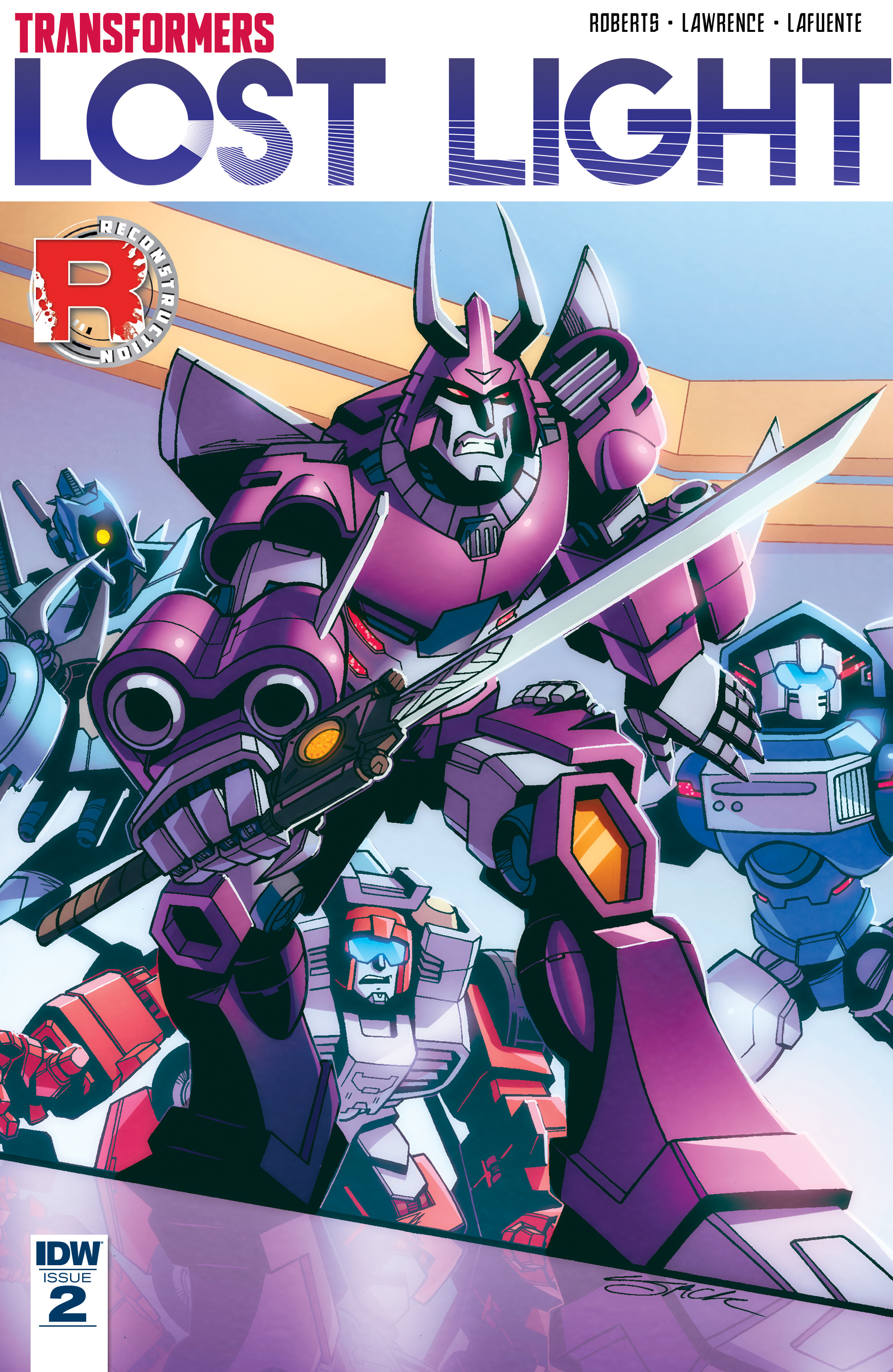 Read online Transformers: Lost Light comic -  Issue #2 - 1